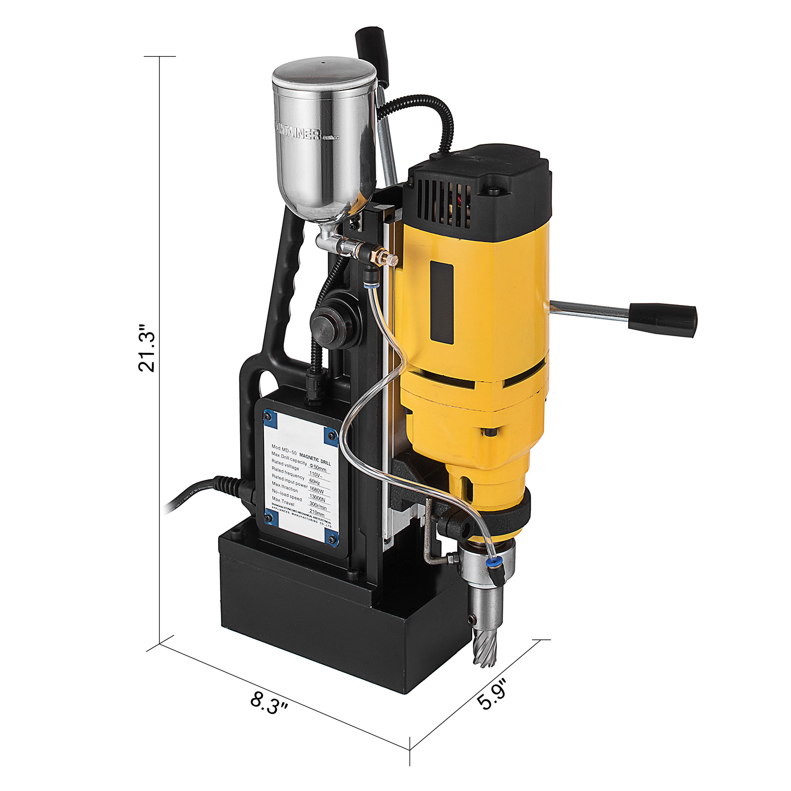 Electric Magnetic Drill Press MD13//MD25//MD50 Mining  Stable Welding