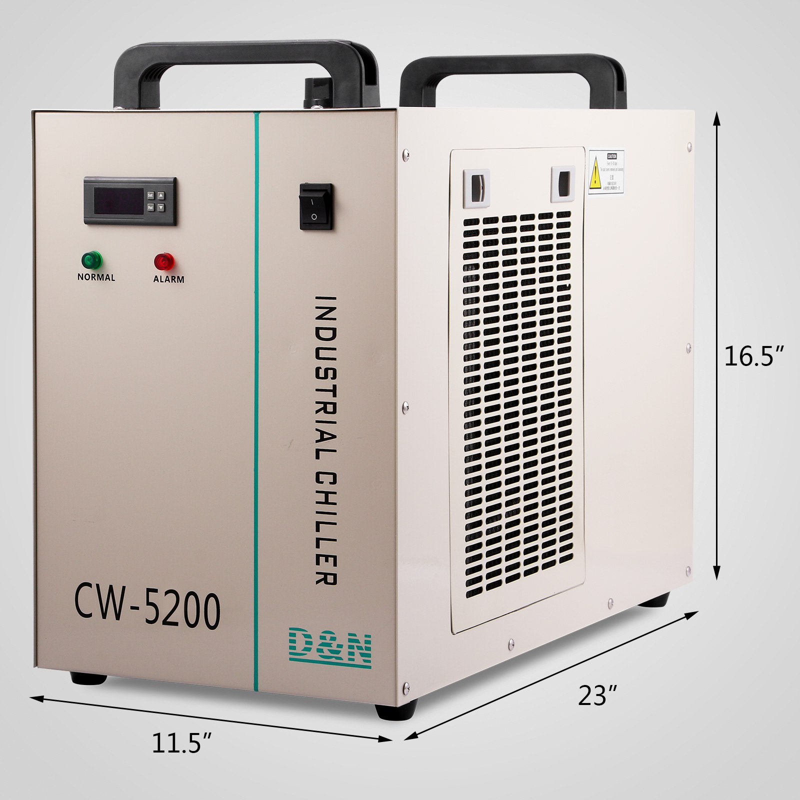 CW 5200DG INDUSTRIAL WATER CHILLER CNC LASER LASER EQUIPMENT SPINDLE  #248178