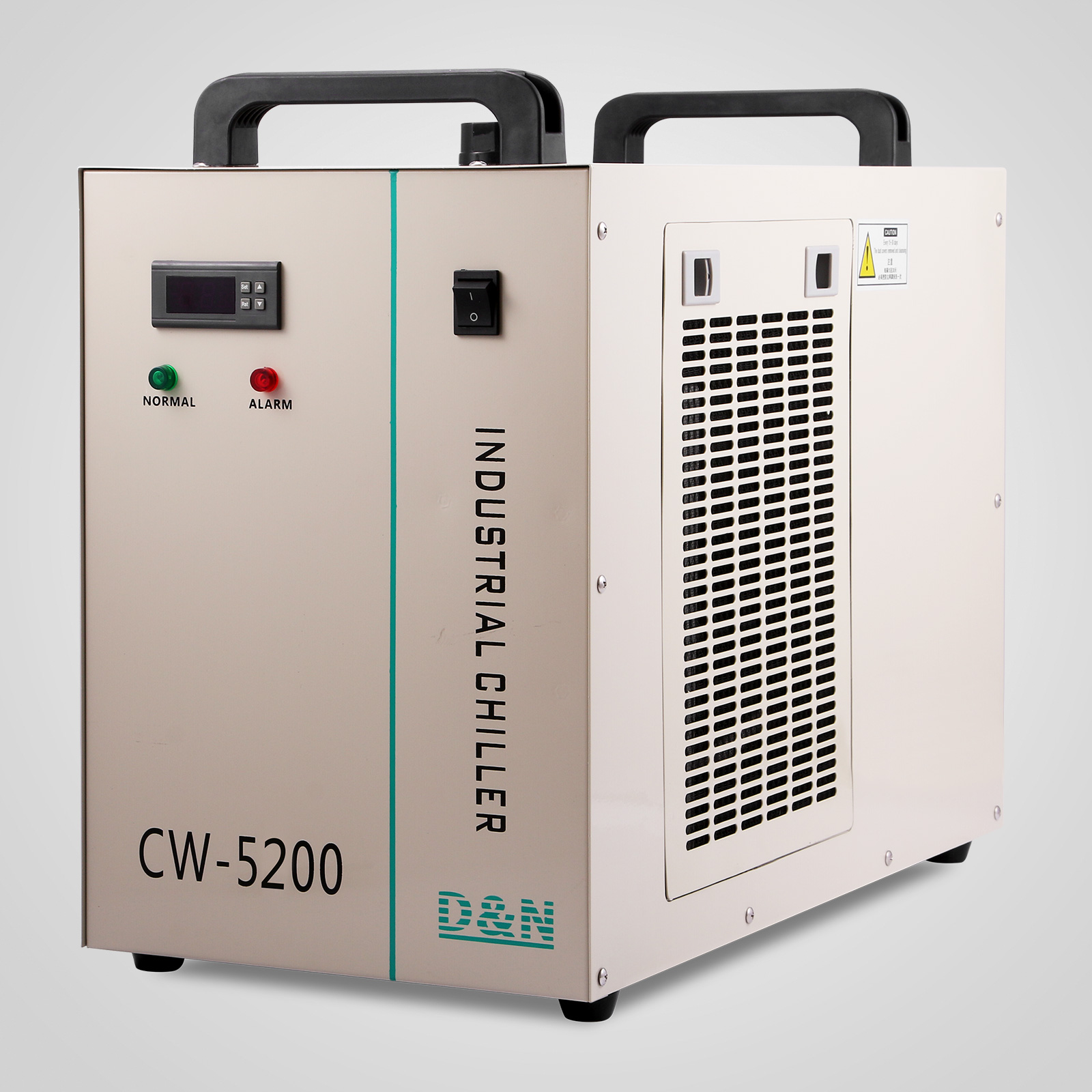 220V CW 5200DG Industrial Water Chiller for Single 130/150W CO2 Laser  #2B847B