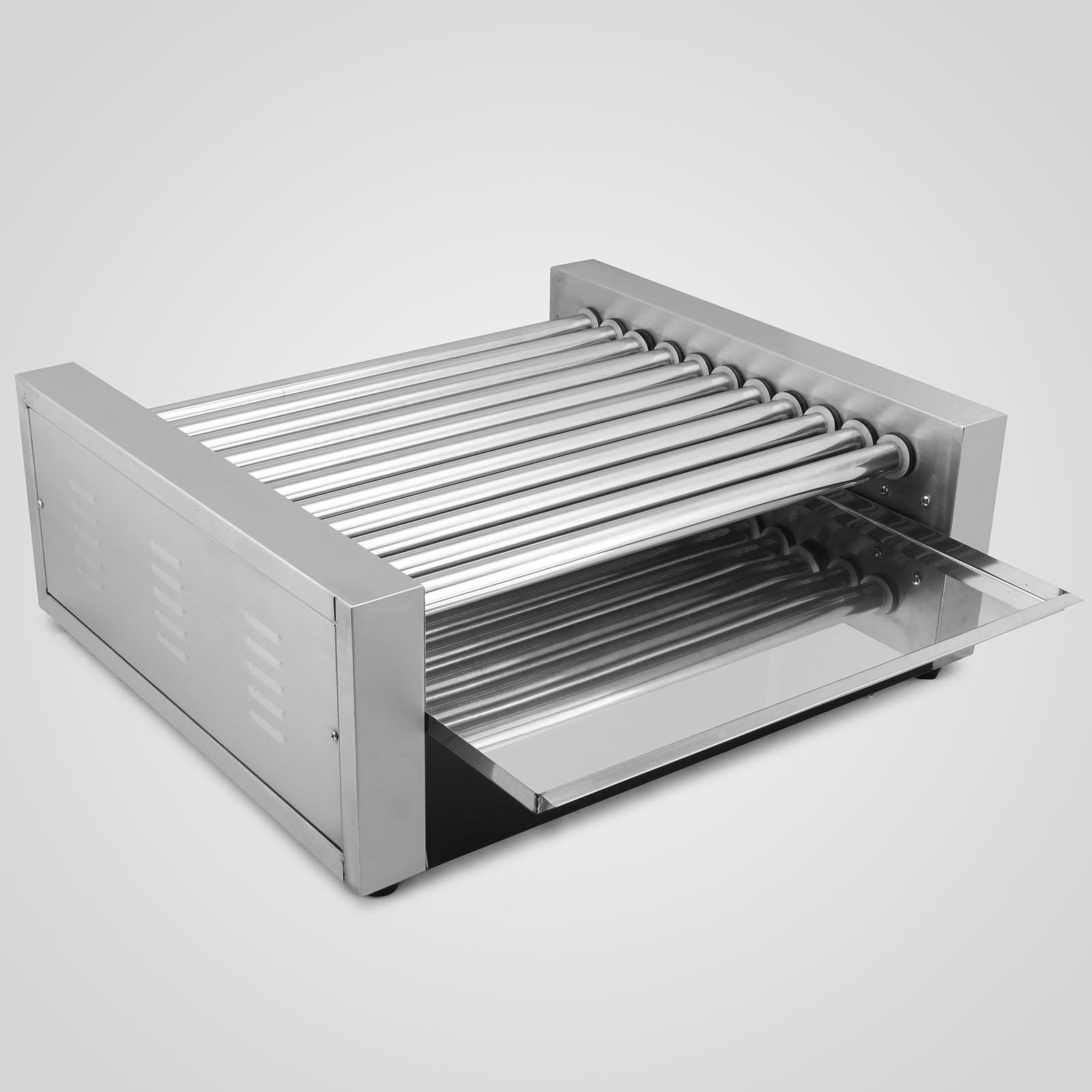 new commercial 30 hot dog hotdog 11 roller grill cooker machine vending ebay. Black Bedroom Furniture Sets. Home Design Ideas