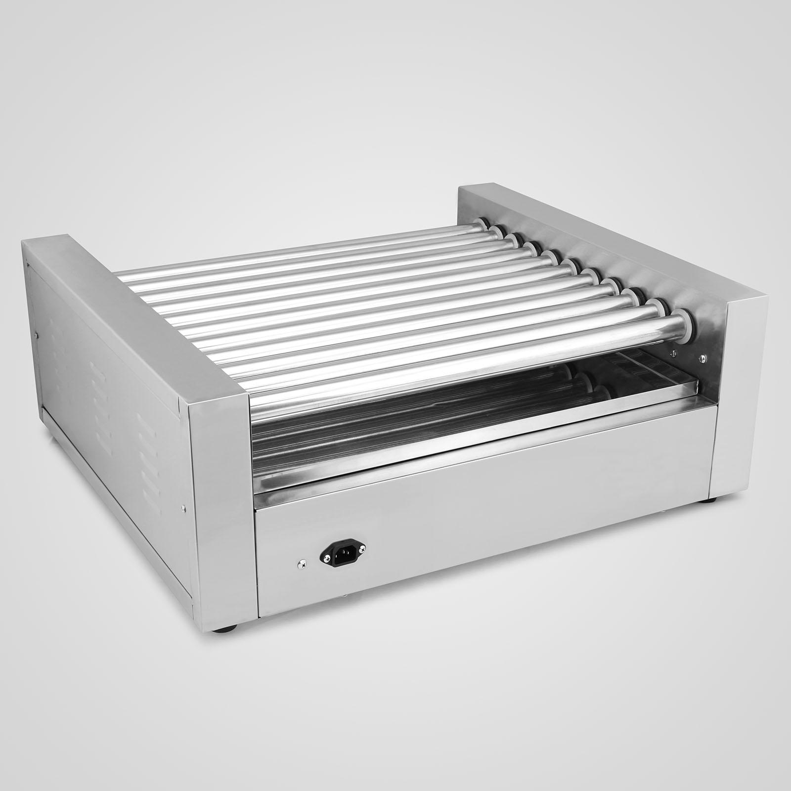 Ebay - Hot dog roller grill with bun warmer ...