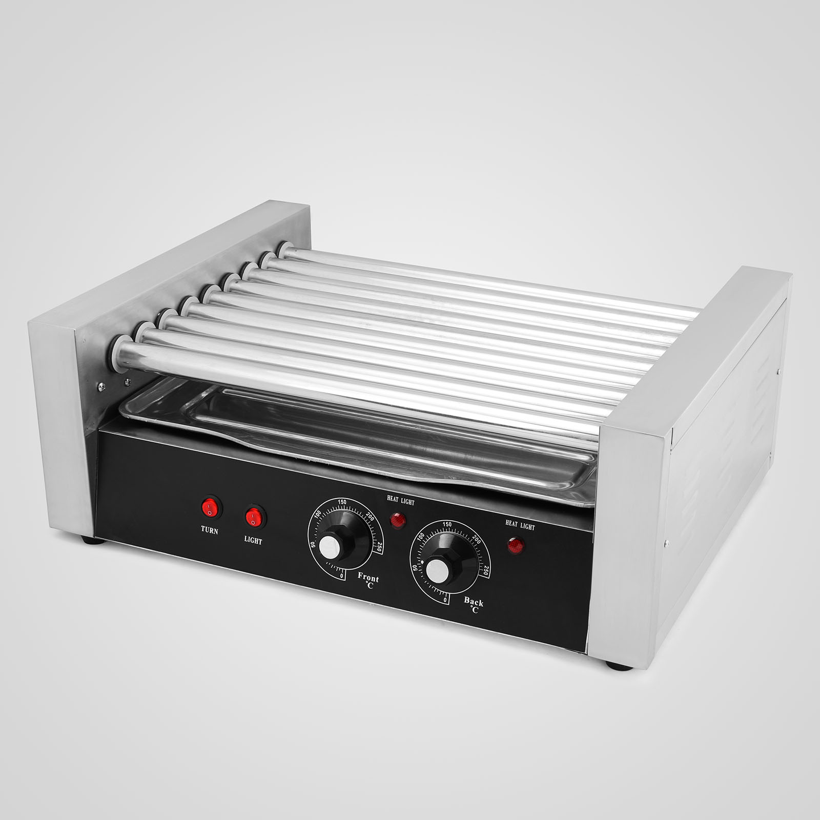commercial sausage hotdog 9 roller grill hot dog cooker machine warmer ebay. Black Bedroom Furniture Sets. Home Design Ideas