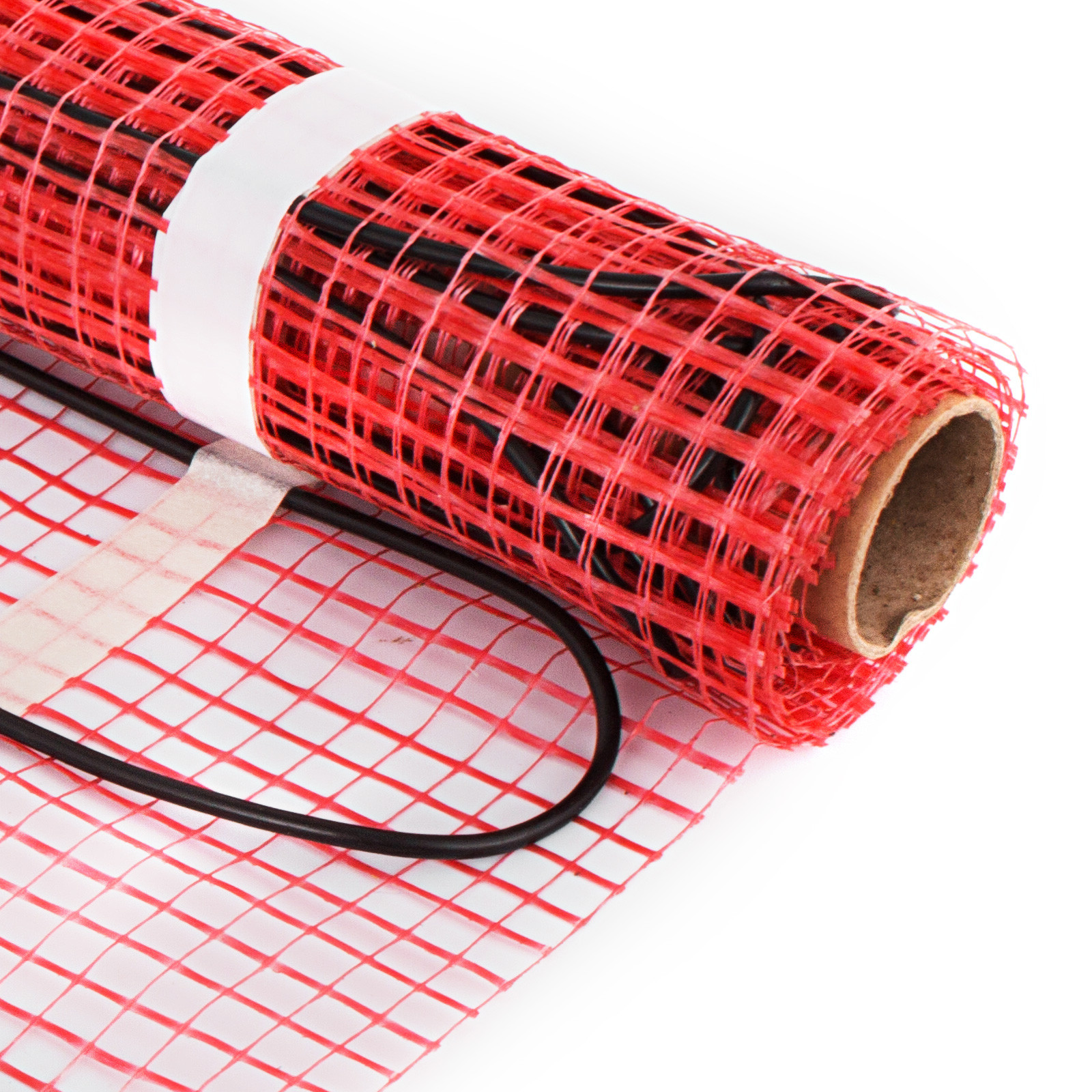 Electric Under Floor Heating mat Tile Radiant Warm System Self-Adhesive Mats