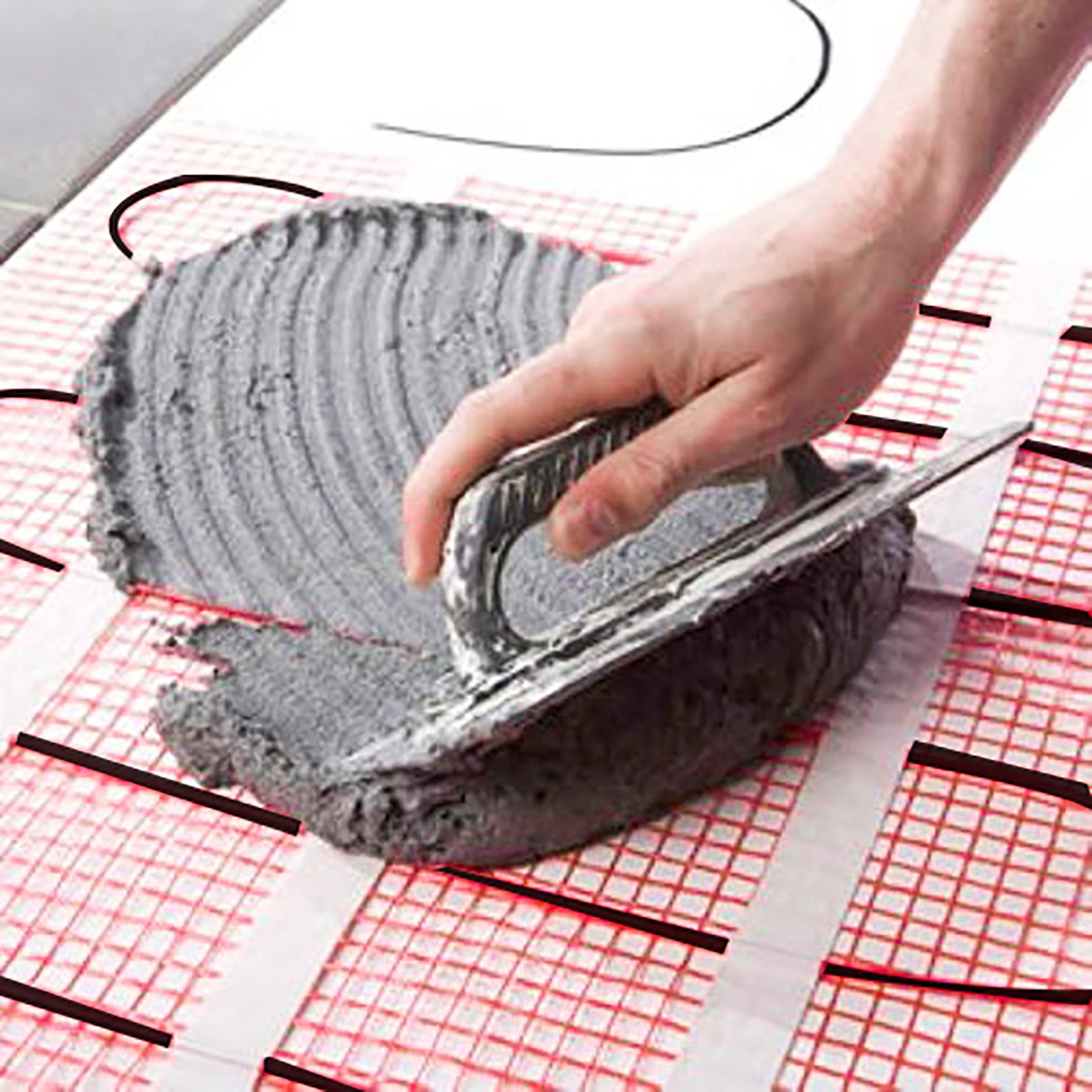 Self-Adhesive Mats Electric Under Floor Heating mat Tile Radiant Warm System
