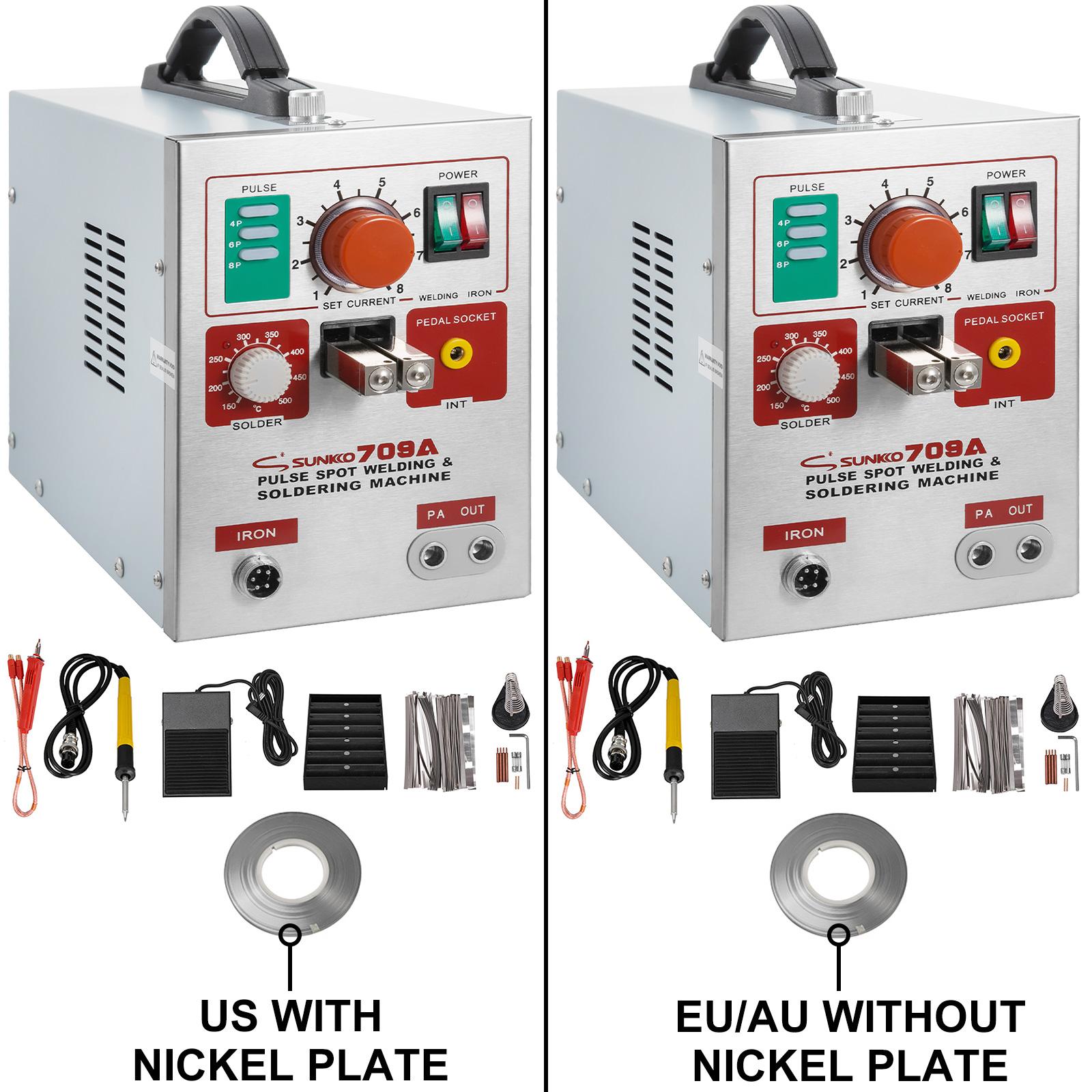 SUNKKO Pulse Spot Welder for 18650 Battery Welding Soldering Machine 737G 709A……