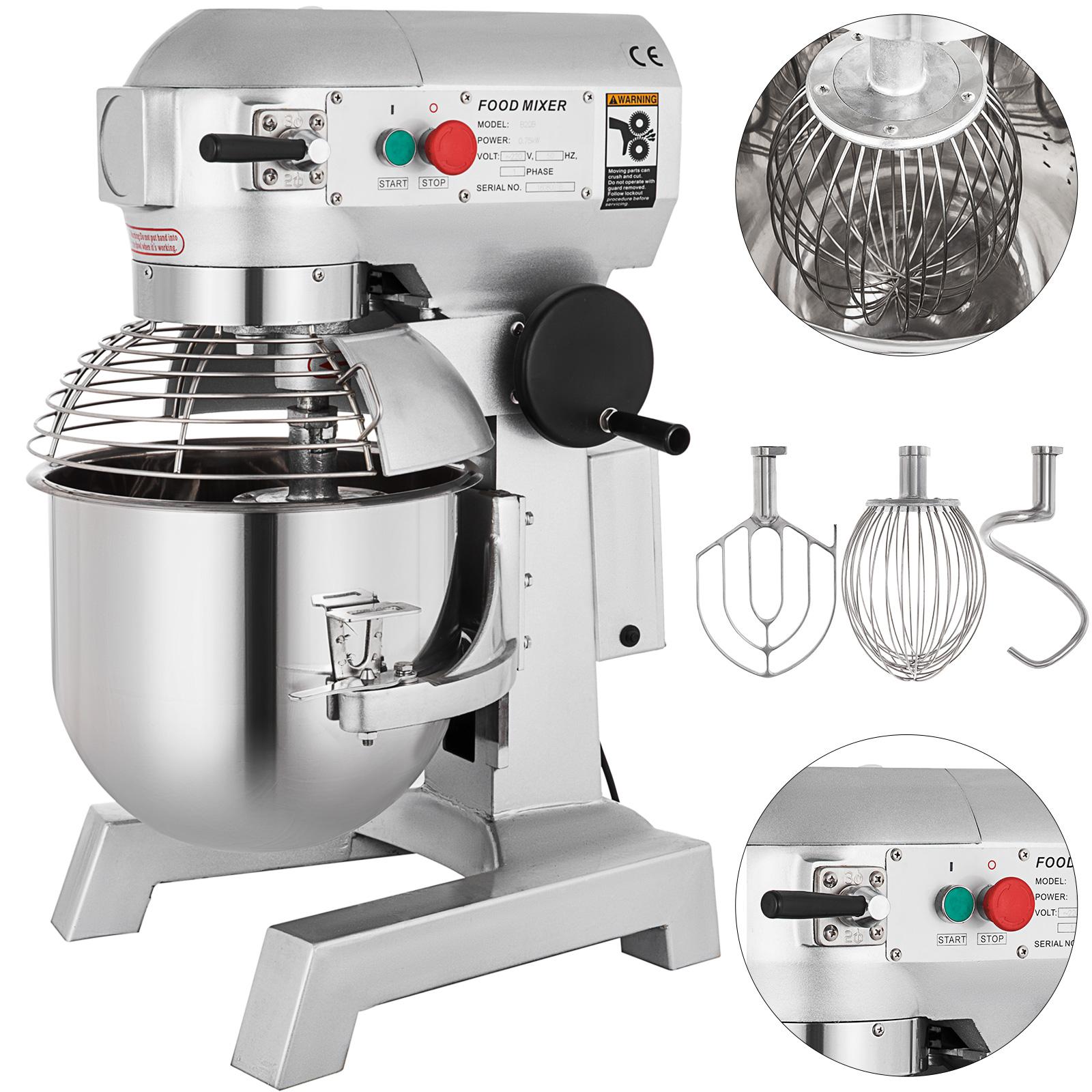 15l Commercial Automatic Dough Mixer Multifunction Milk Machine Flour Mixe Home Appliances Food Processors