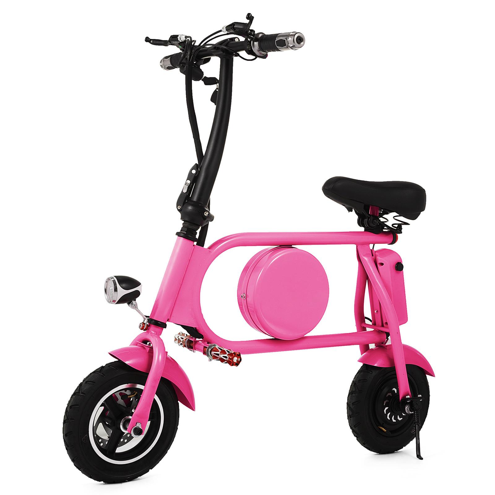 Folding Electric Bicycle E-Bike 36v battery /& 400-Watt Motor Portable eBike FF