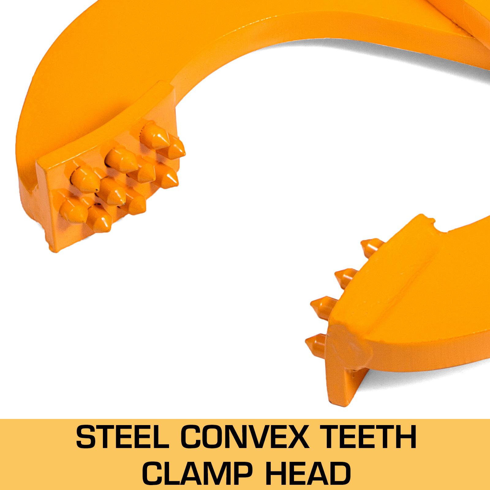 Pallet Puller Clamp Pallet Grabber Single//Double Scissor 1T//2T//3T Capability