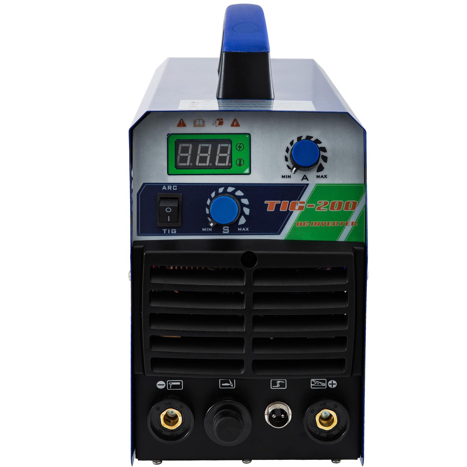 200 Amp TIG Stick MMA Arc 2in1 Combo Welder DC Inverter IGBT 110//230V TIG-200