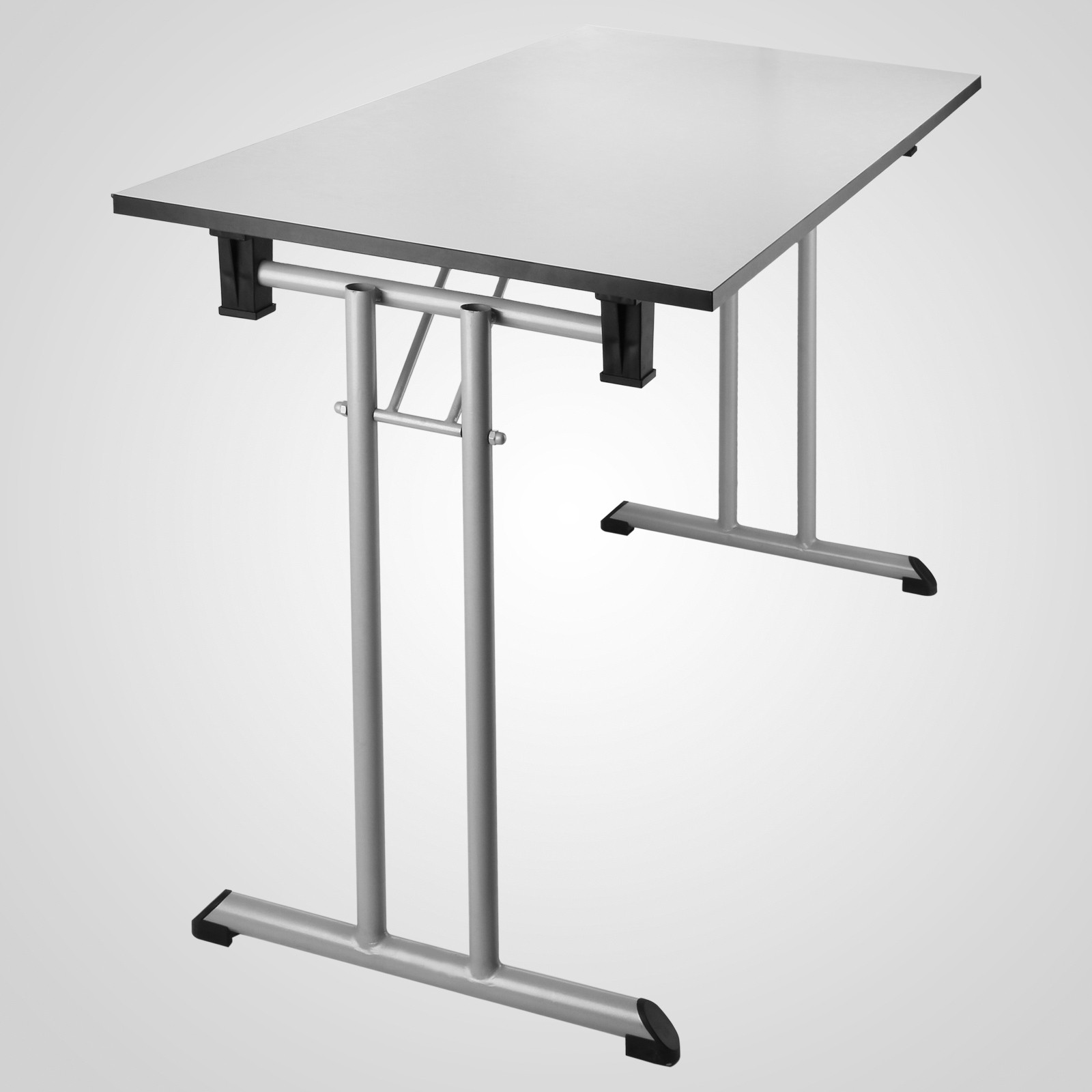 Tavolo in resina rigida e acciaio richiudibile a valigia pieghevole 130x60cm ebay - Tavolo pieghevole a valigia ...
