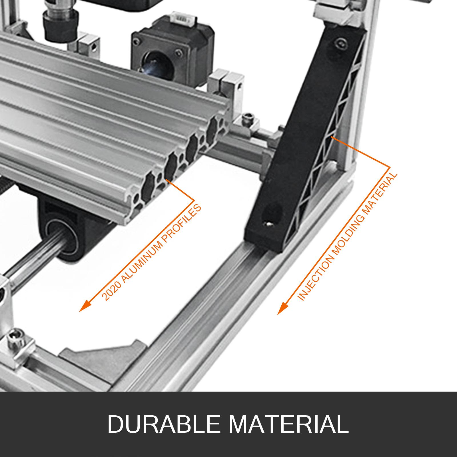 3 Axes CNC Router 1610//2418//3018 Engraving graveur bois USB Milling machine