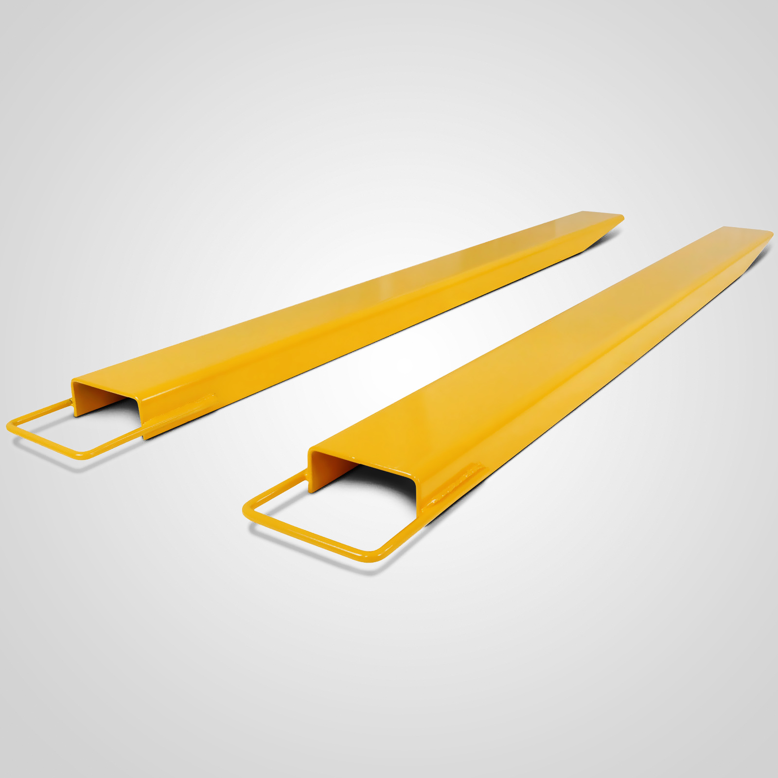 Heavy Duty Fork Lift Extensions : Quot x forklift pallet fork extensions pair truck steel