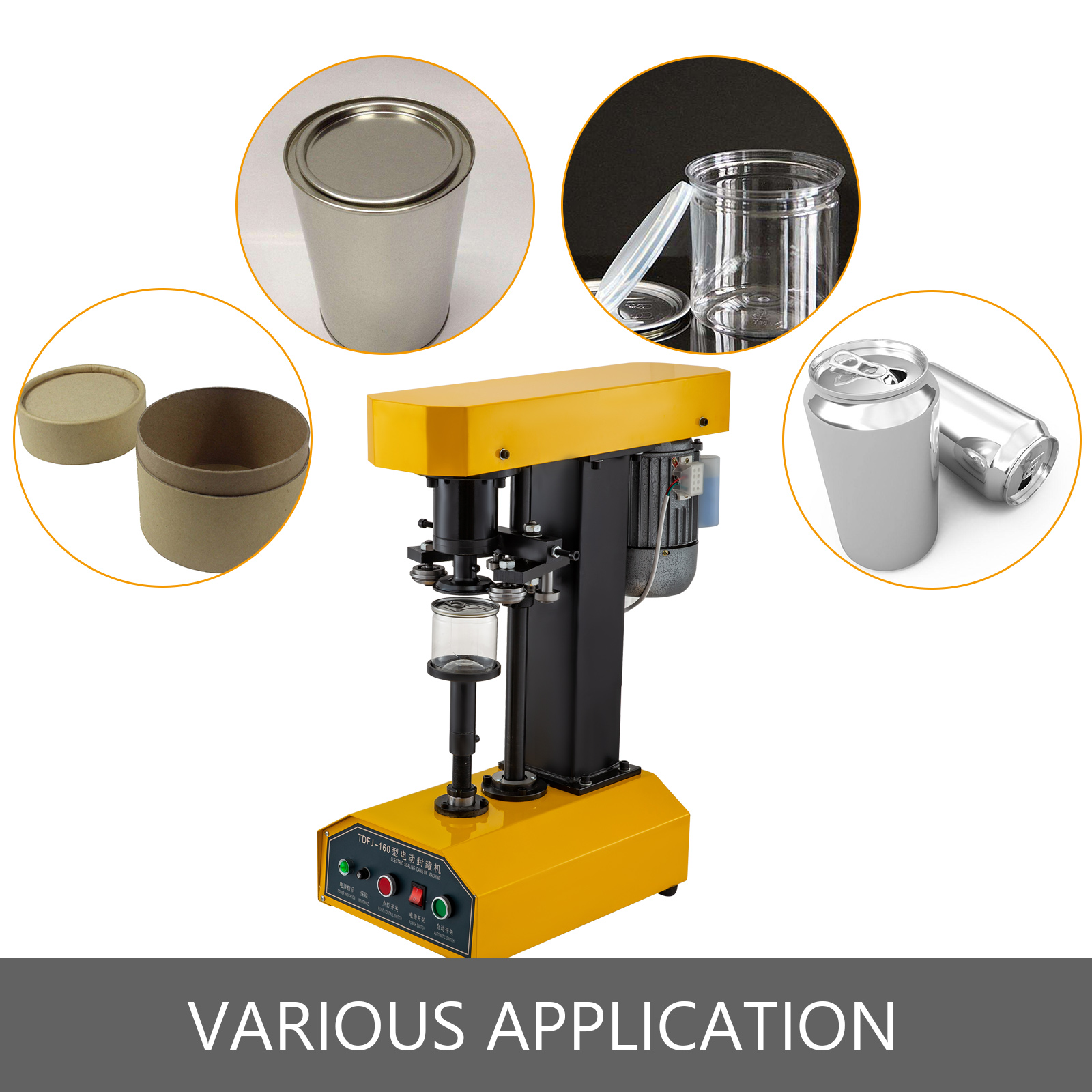 Material Handling Can Sealer Automatic/Manual Can Seamer Tin Can ...