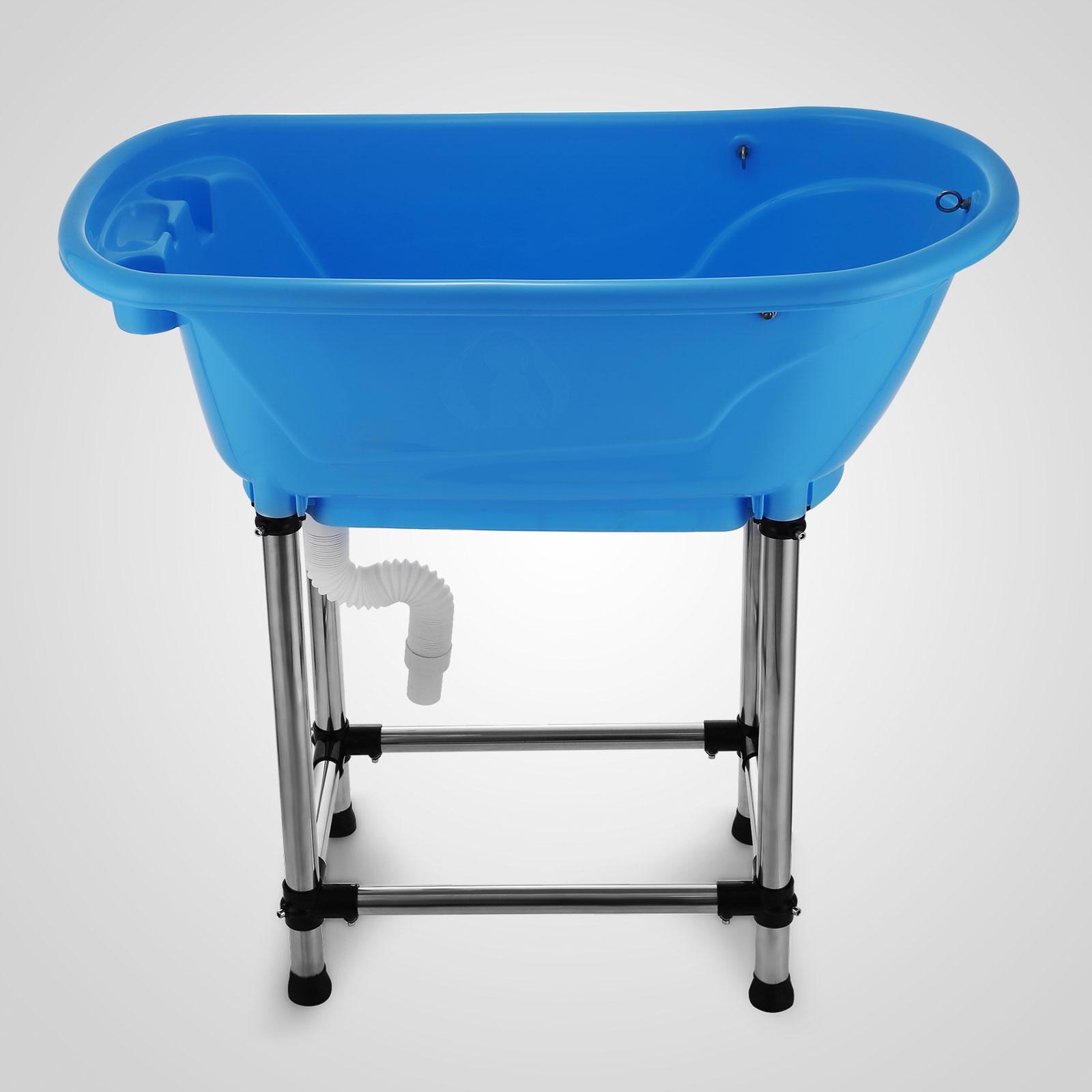 vevor fibre glass fibreglass plastic dog pet cat grooming bath tub bathtub ebay. Black Bedroom Furniture Sets. Home Design Ideas