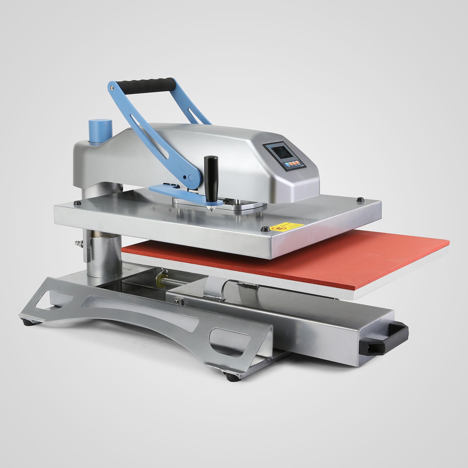 40x50cm Swing Arm Air Fusion Heat Press Machine