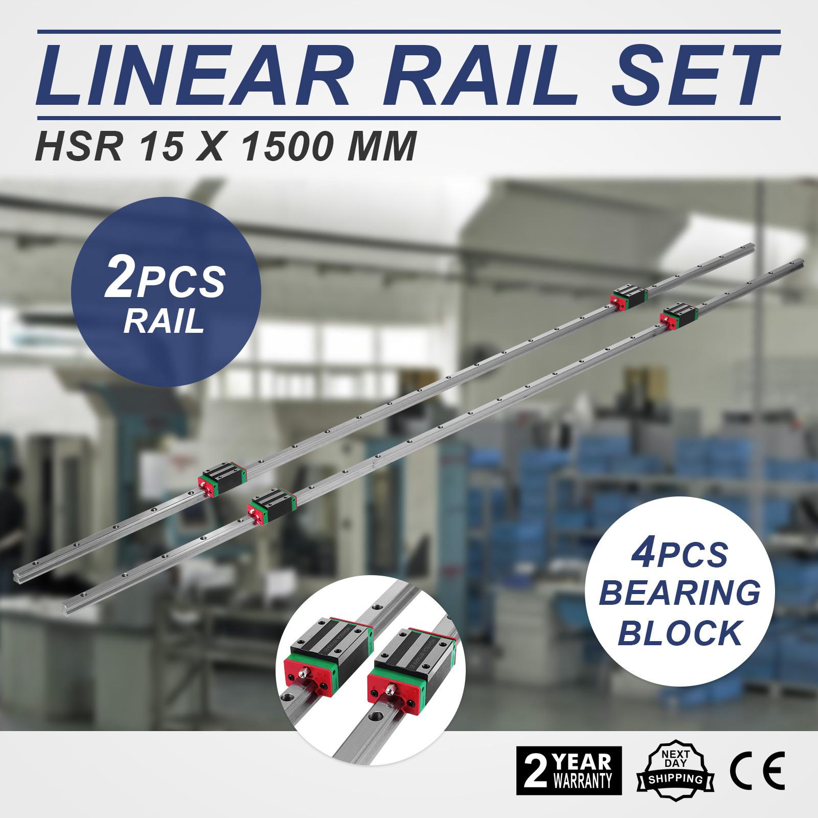 15-1500mm Linearführung Linear HGH 15CA  mechanisch Linear-Schiene BEST PRICE