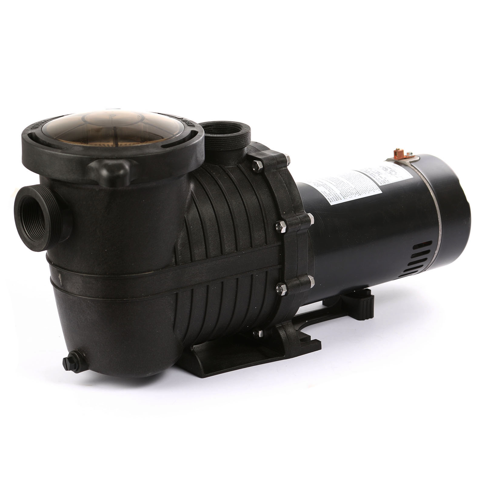 In ground motor 1 5hp swimming pool pump filter w for Inground pool pump and filter systems