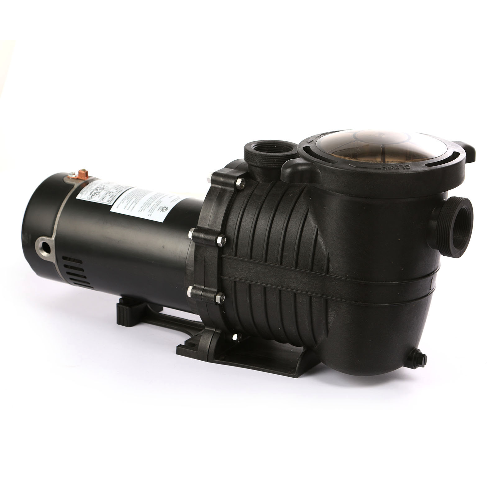 2hp swimming pool pump filter cycling electric self. Black Bedroom Furniture Sets. Home Design Ideas