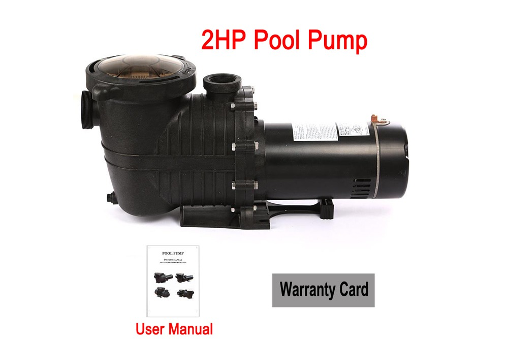 Swimming Pool Pump In Ground High Flo 2hp Excellent