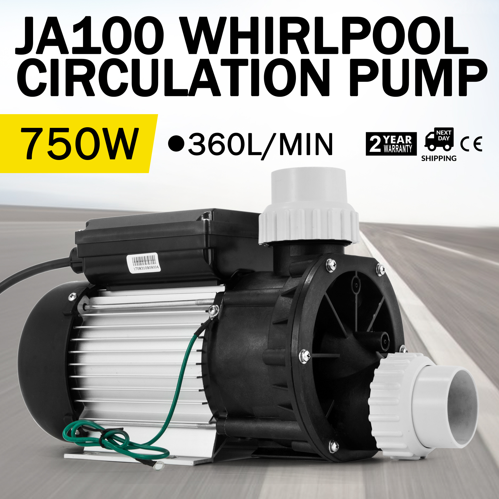 LX JA100 Whirlpool Pumpe Umwälzpumpe Hot Tub Powerful Durable Jetpumpe  360L/MIN