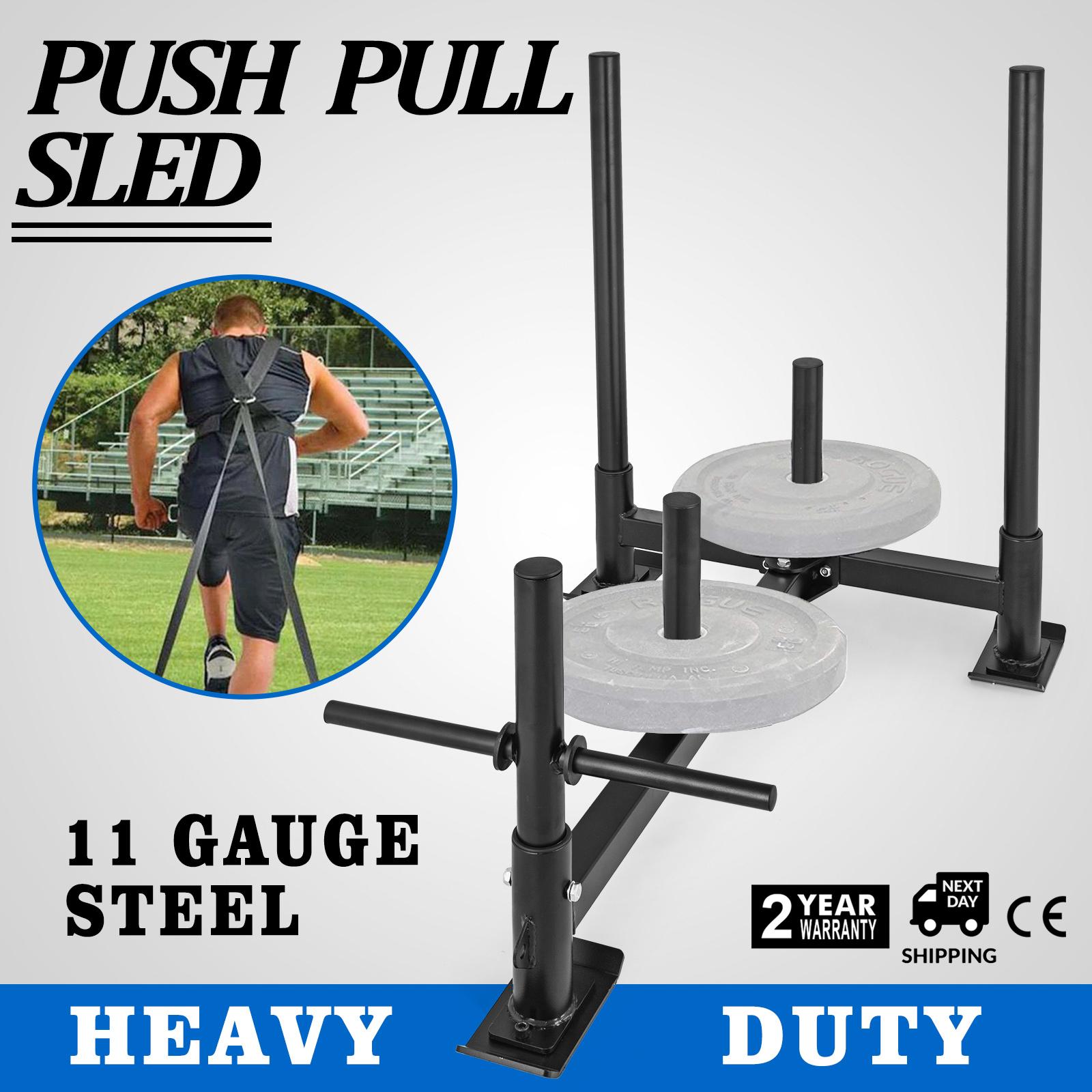 Sled Zugwiderstandsschlitten Gewichtsschlitten Classic Lauftraining Fitness  | Wirtschaftlich und praktisch  | Elegantes und robustes Menü