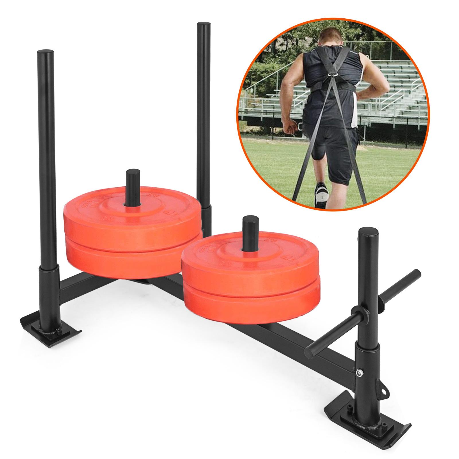 Fitness-HD-Weight-Sled-Low-Push-Pull-High-Training-Fitness-Transform-Sport miniatura 12