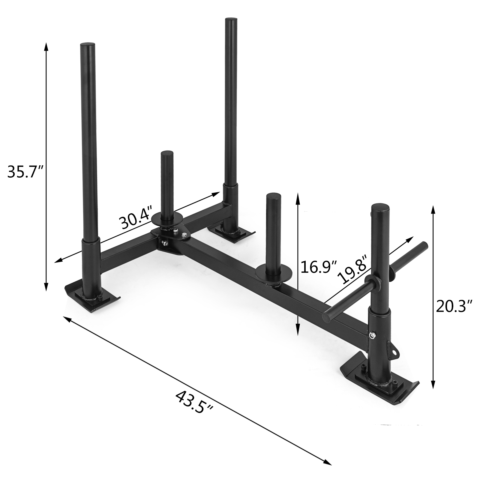 Fitness-HD-Weight-Sled-Low-Push-Pull-High-Training-Training-Fitness-Plates miniatura 2