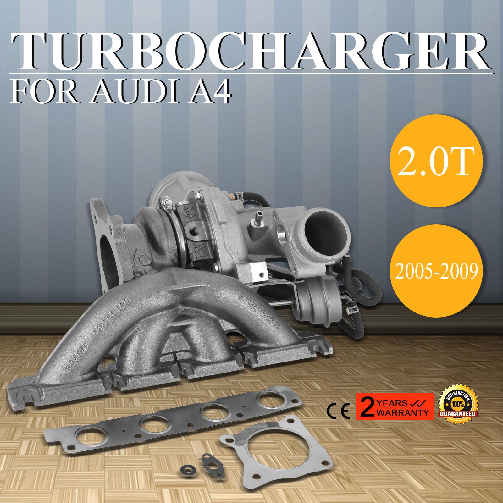 New For 2005-2009 Audi A4 2.0T B7 BUL BWE BWT K03 Turbo