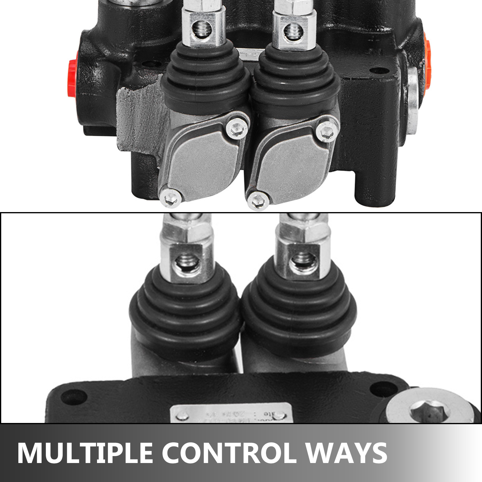 2-Spool-Hydraulic-Control-Valve-21GPM-Double-Acting-Monoblock-Log-Small-Tractors thumbnail 6