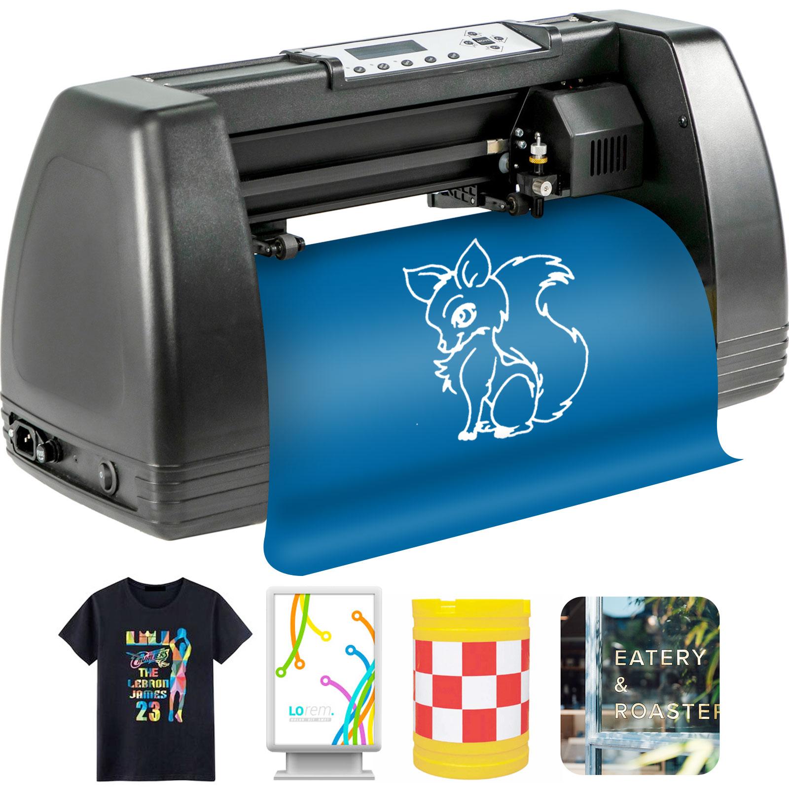 Schneideplotter Folienplotter Plottermaschine LCD Bildschirm Dekoration Print