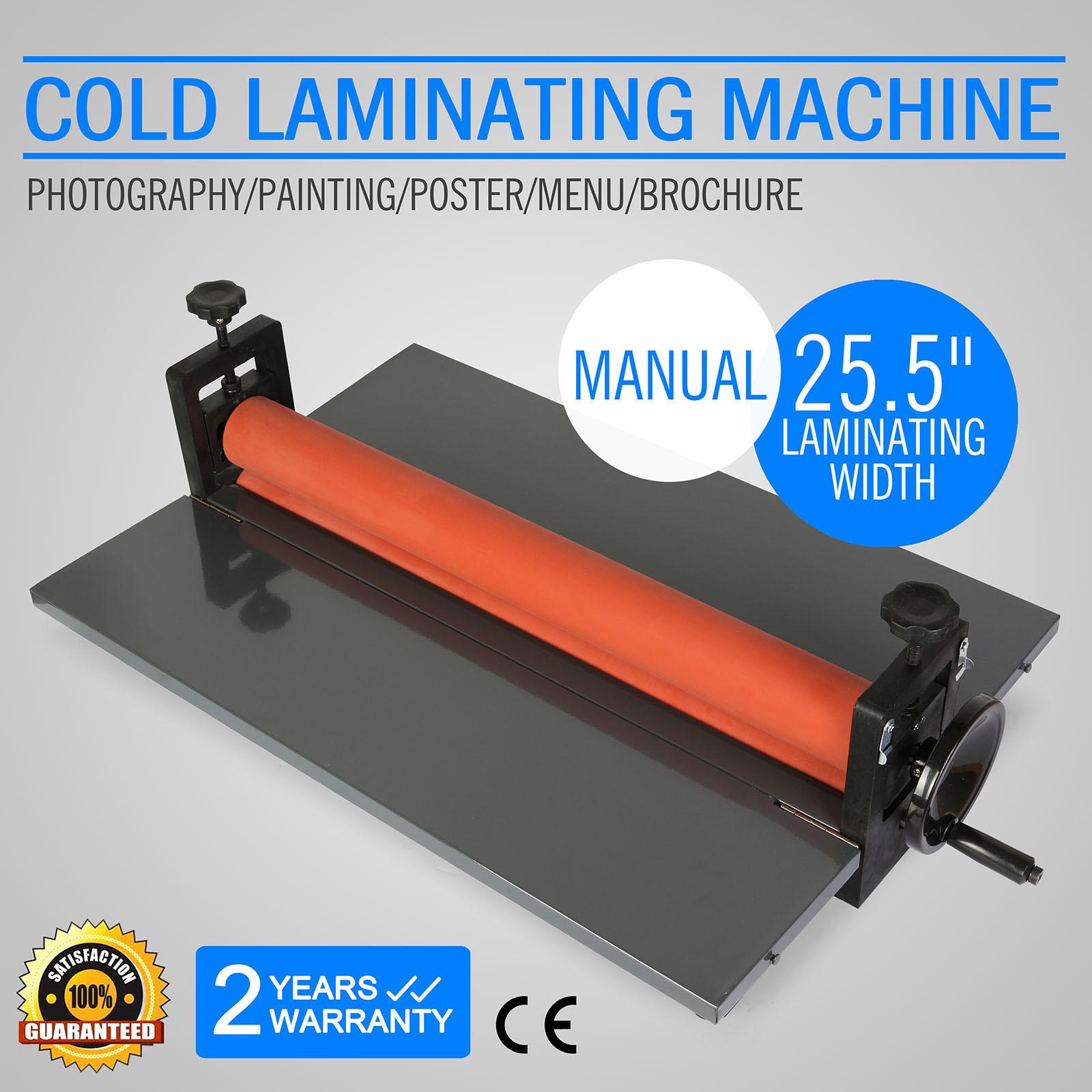 "25.5"" MANUAL COLD LAMINATOR LAMINATING MACHINE MOUNTING FOLD-UP METAL HIGH GRADE"