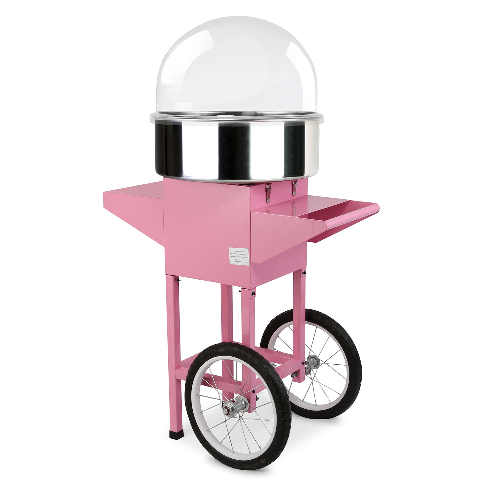 Pro Bubble Cover Protection 52cm Cupola For Candy Floss Macchina Zucchero Filato