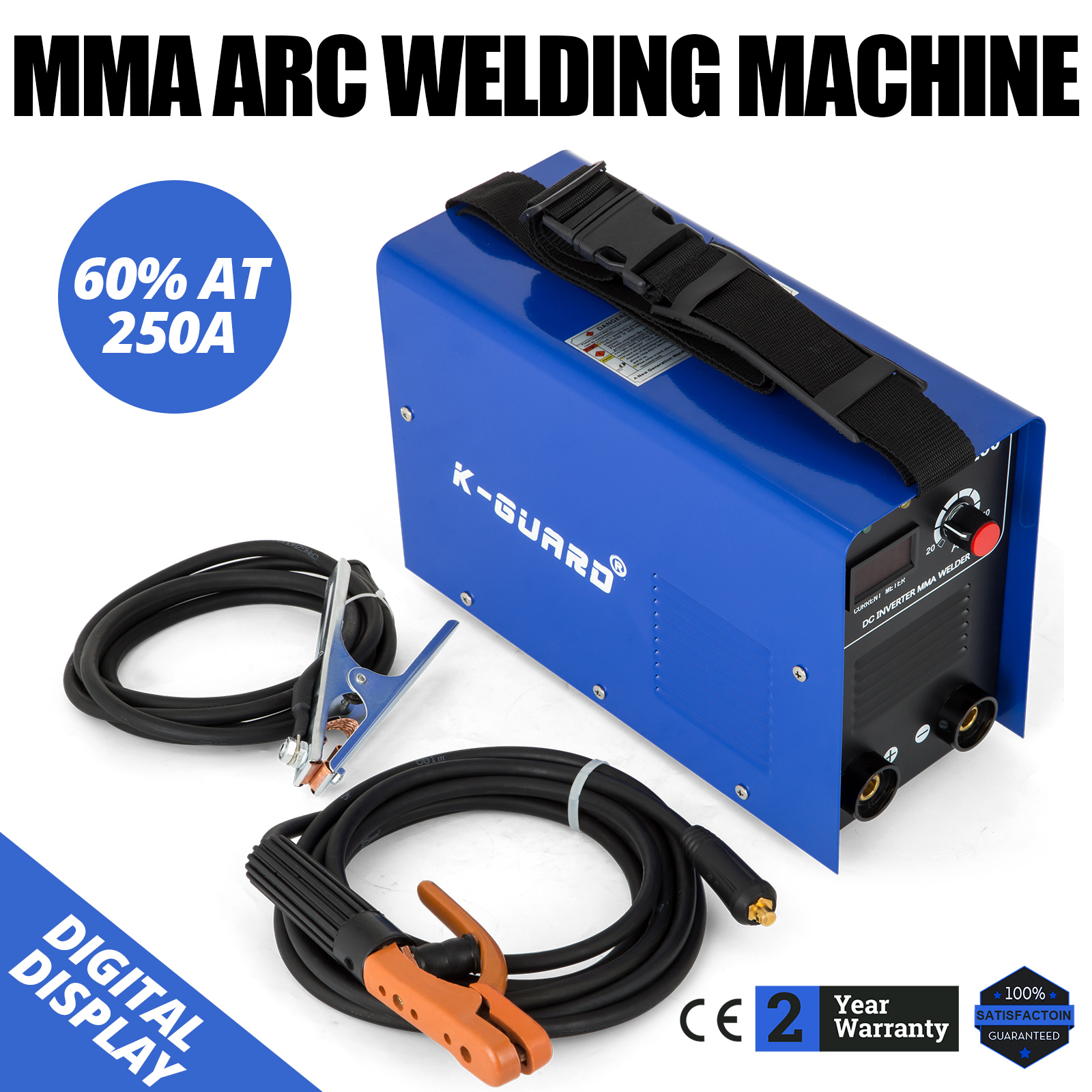 250 AMP INVERTER Welder MMA ARC Portable Welding Machine
