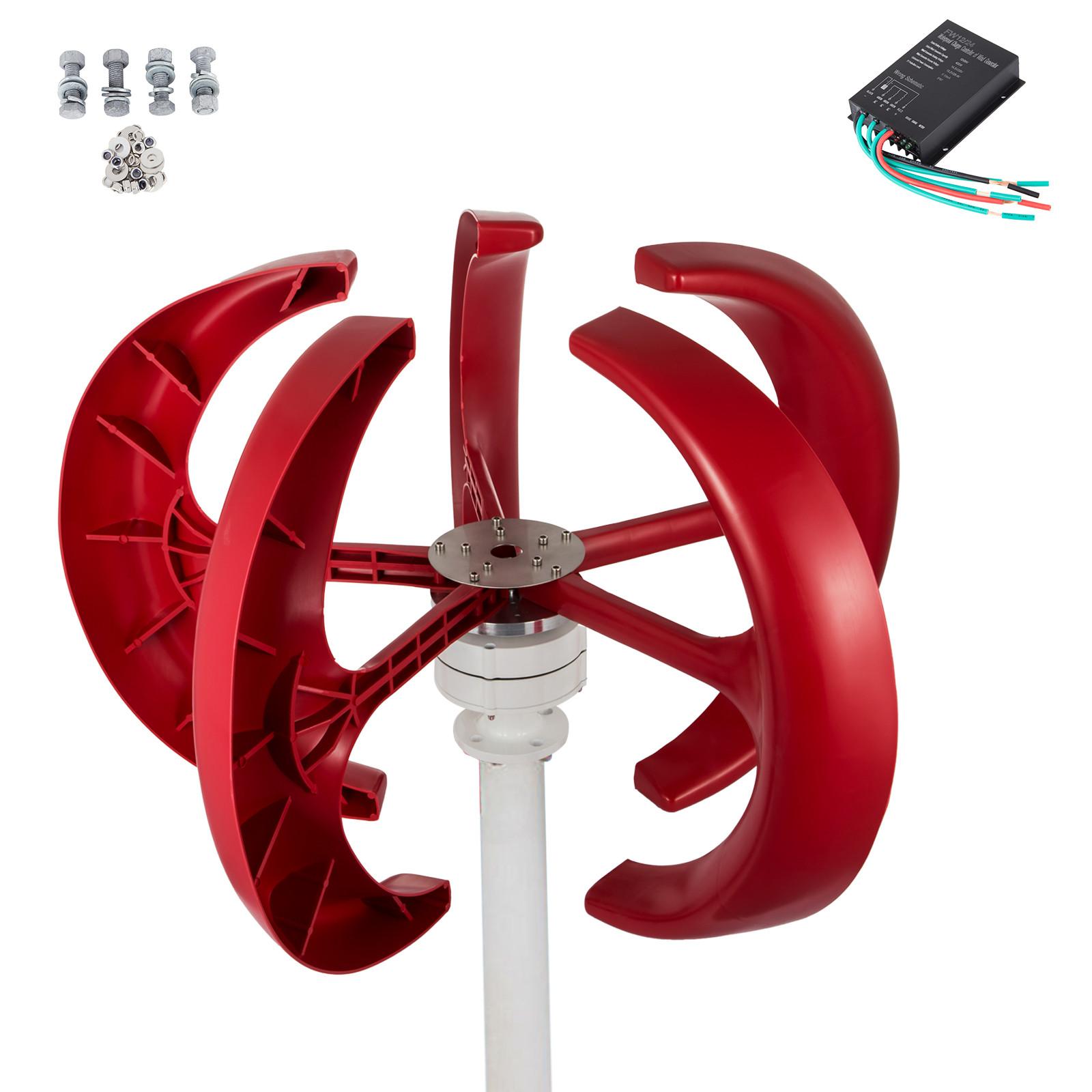 100~400W Lantern Wind Turbine Generator Vertical Axis  Controller Hot !