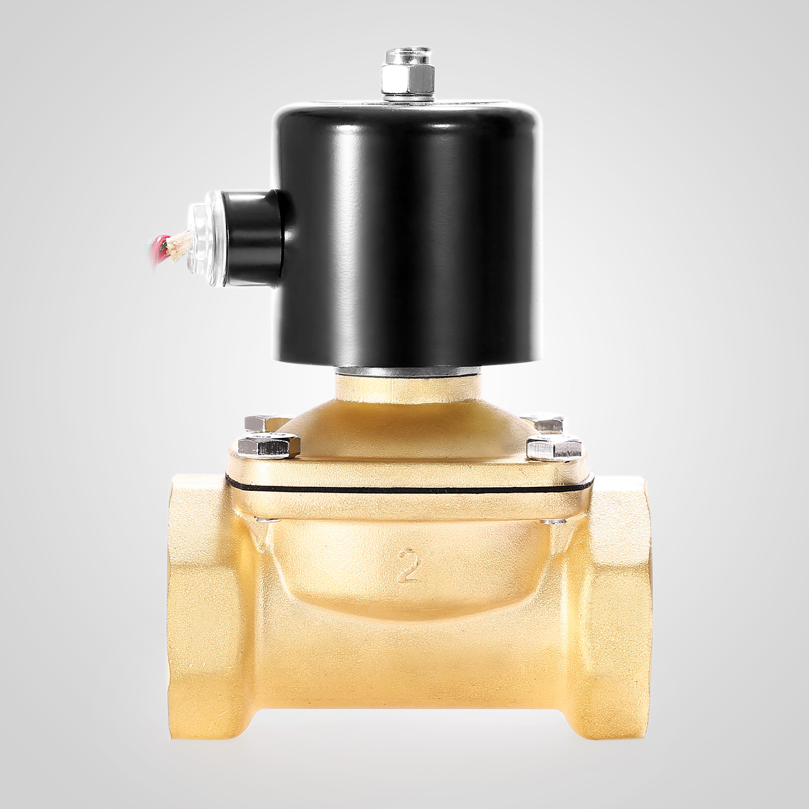 Brass Electric Solenoid Valve 2 Quot Npt 110 Volt Ac 110vac
