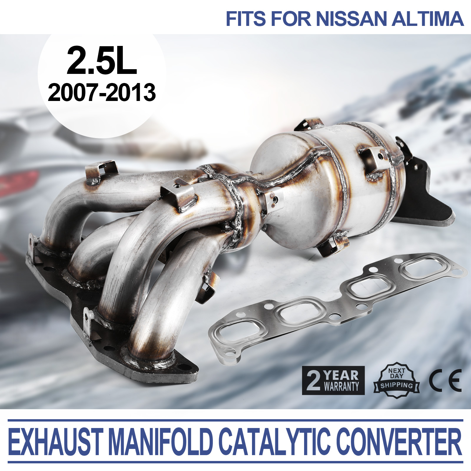 Superior Image Is Loading Exhaust Catalytic Converter For Nissan 07 12 Altima