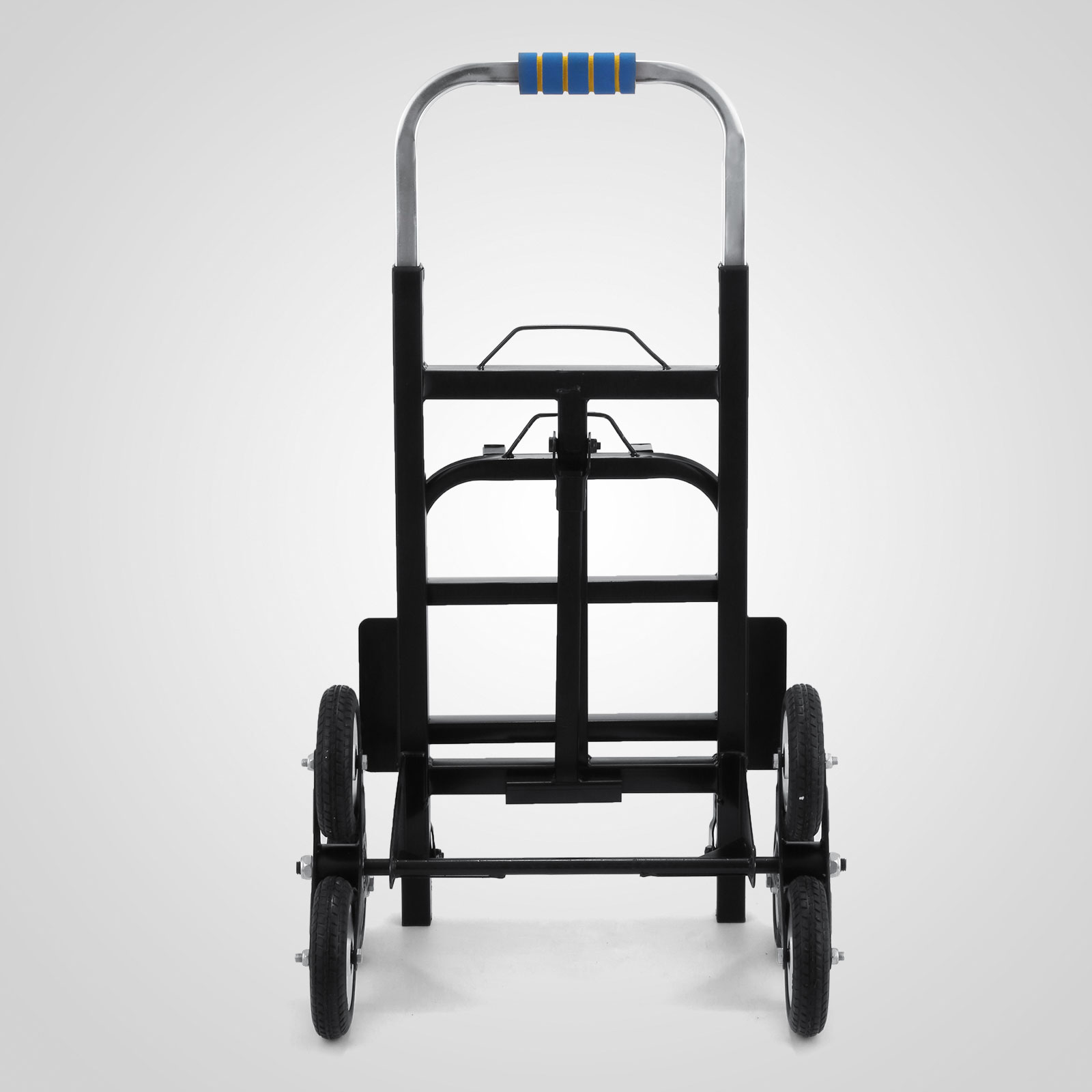 Portable Step For Truck : Kg portable steel frame six wheeled stair climbing hand