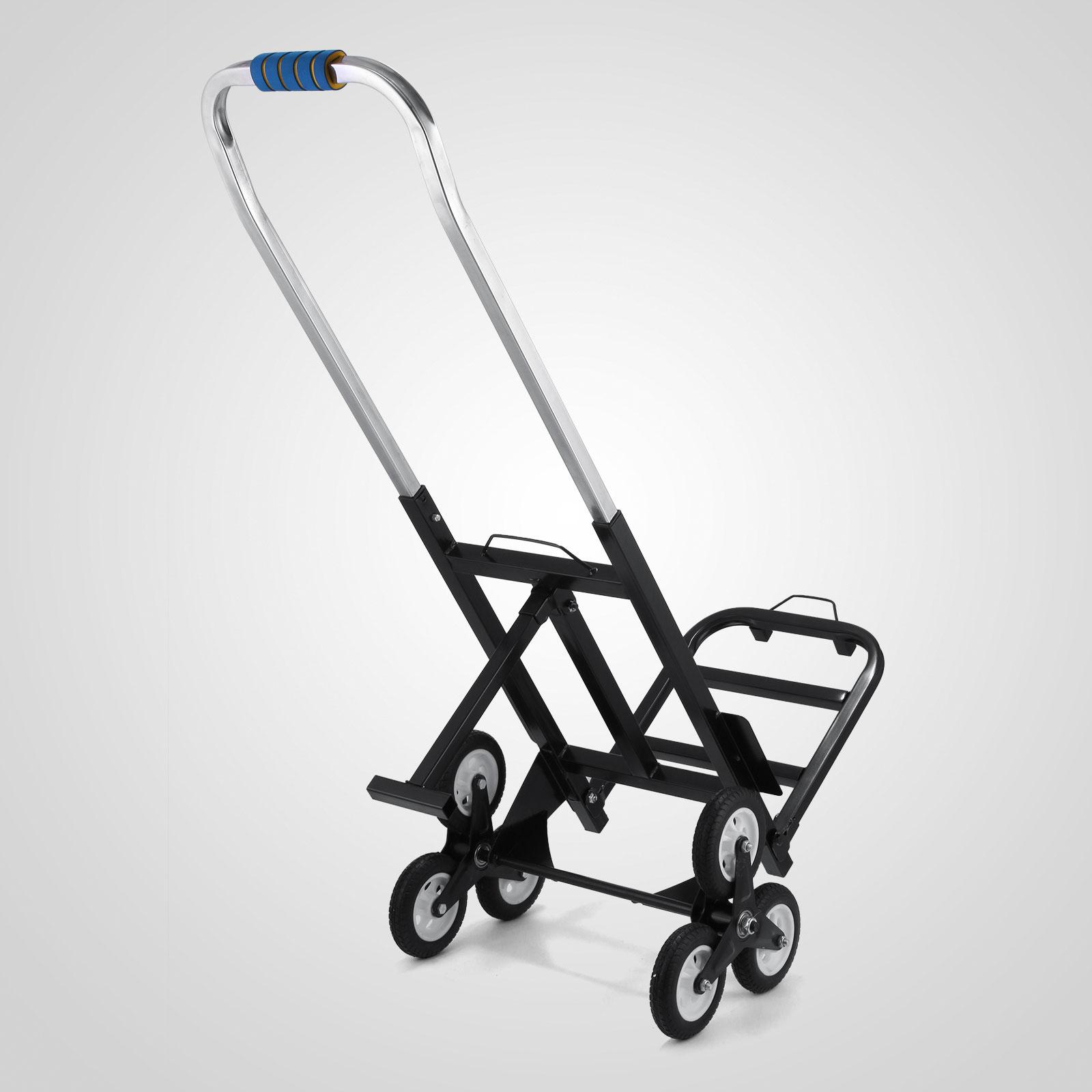 Portable Stair Climbing Folding Cart Climb Moving Up To