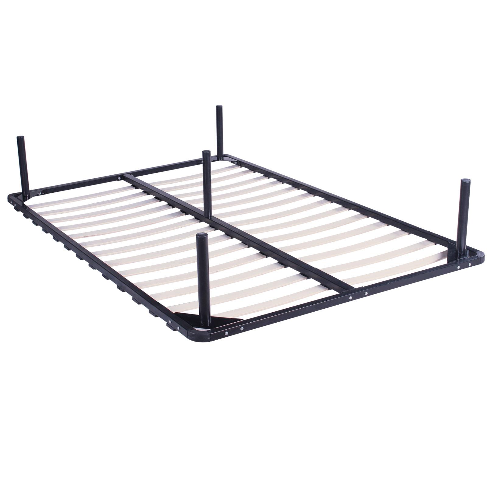 lit en m tal auszugsbett lit queen size assembler double lit adolescent ebay. Black Bedroom Furniture Sets. Home Design Ideas