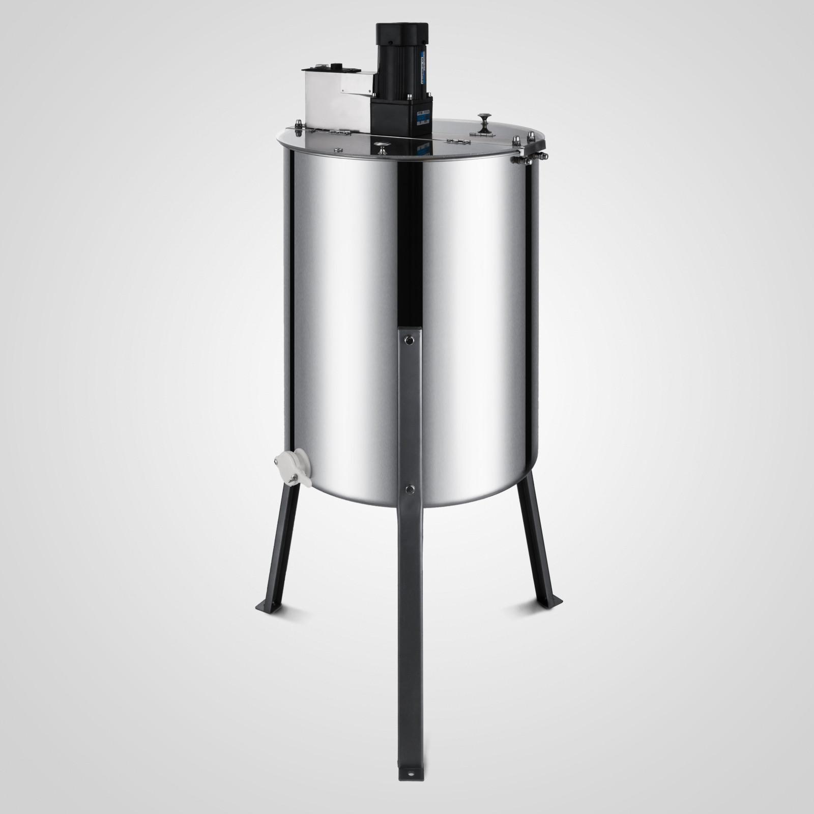Centrifugeuse de miel d/'extracteur de miel d/'abeille de 2//3//4 cadres pour