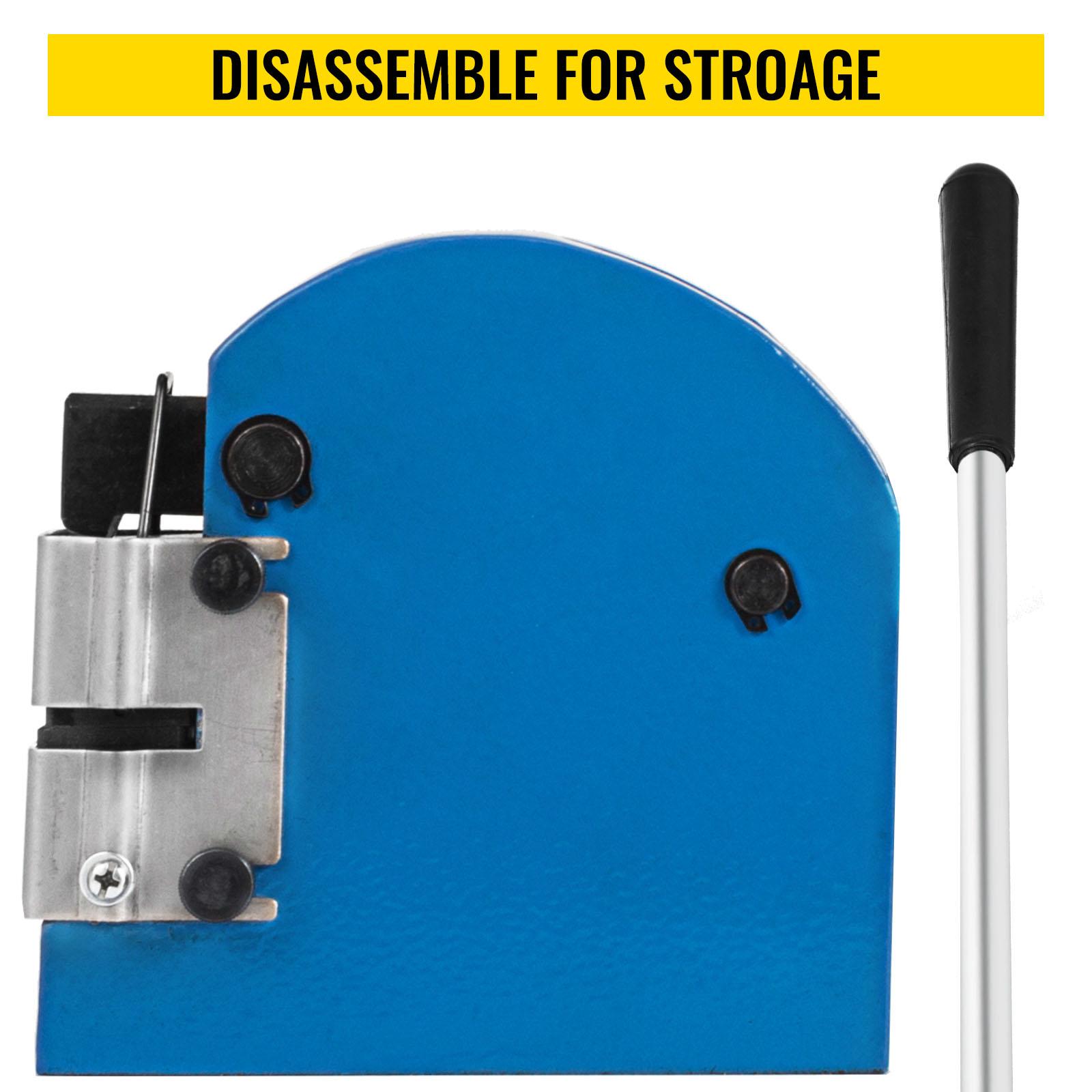 Sheet-Metal-Shrinker-Stretcher-16-18-20-Ga-Aluminum-Mild-Steel-Stainless-Steel thumbnail 6