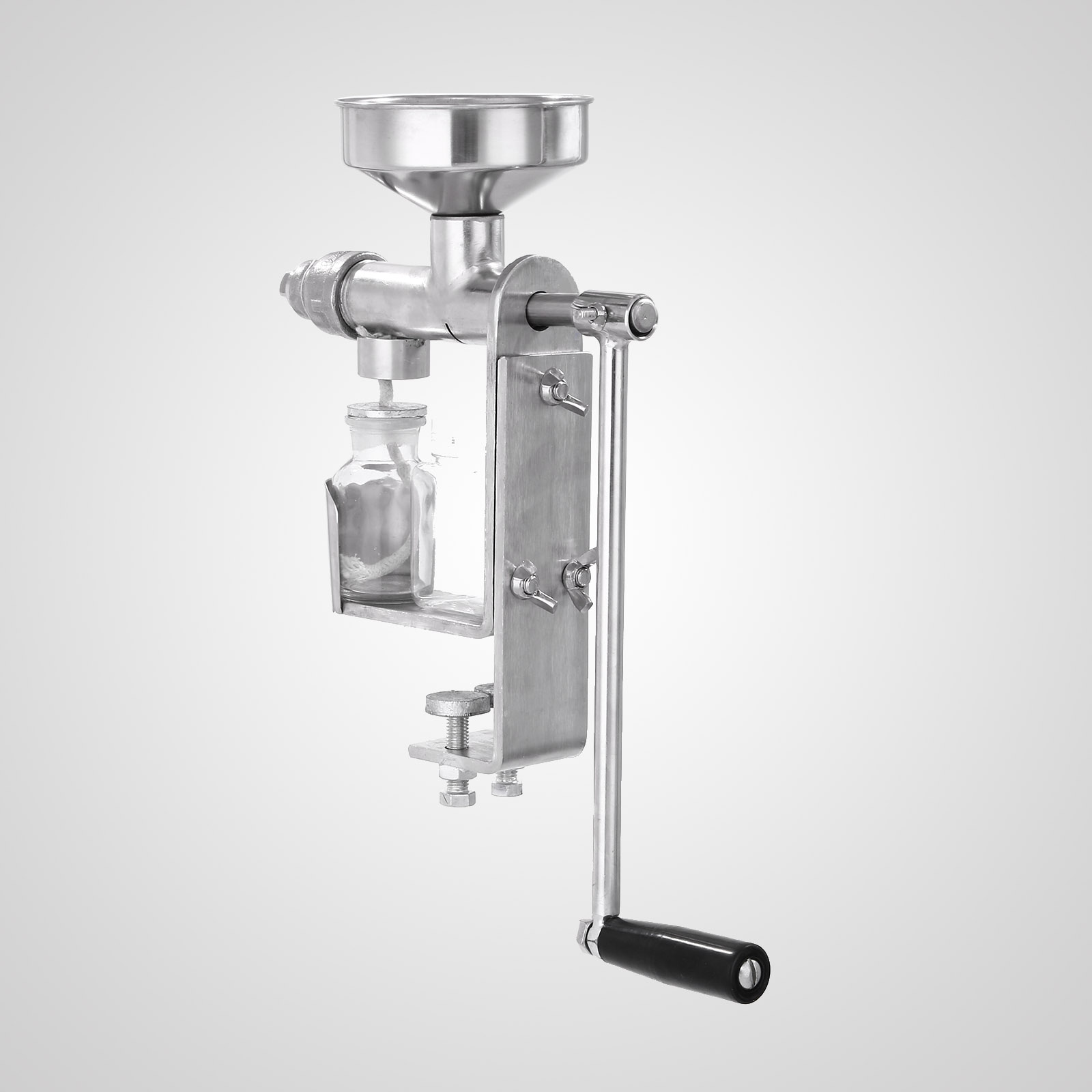 Hd Manual Oil Press Machine Expeller Extractor Stainless