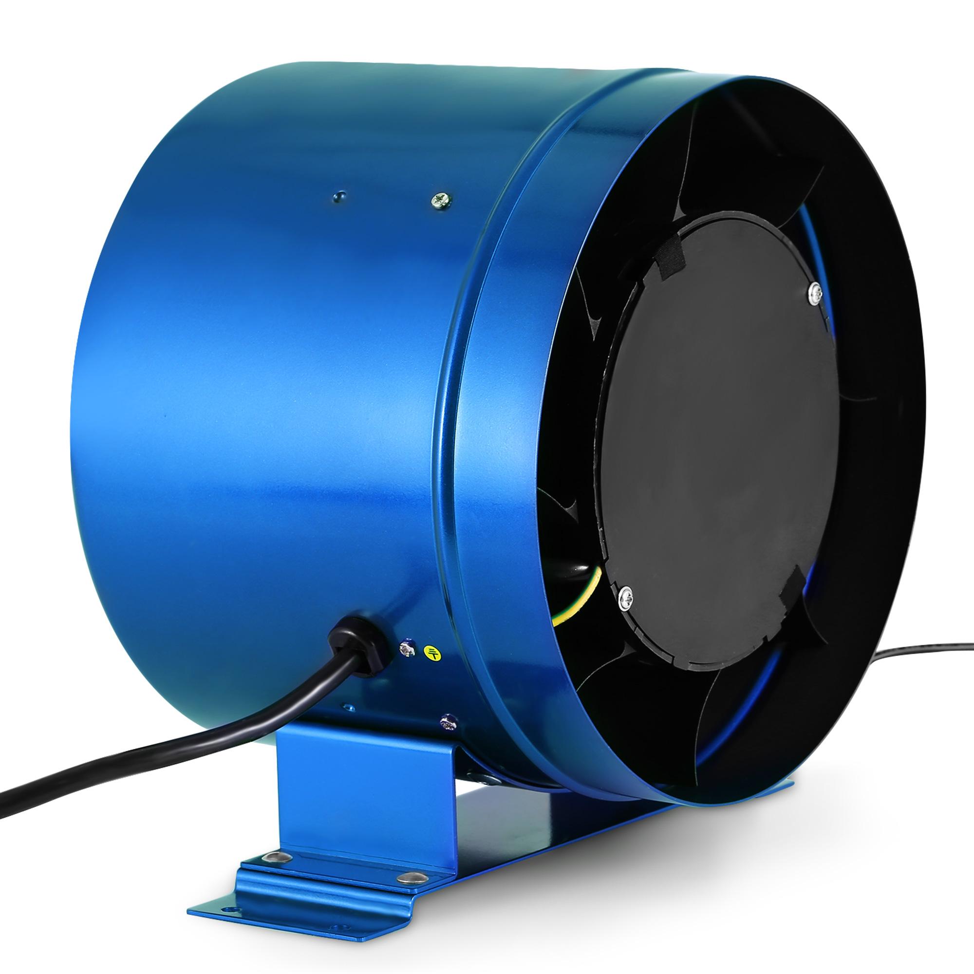 10 Inline Duct Fan : Inline duct fan w speed controller exhaust blower