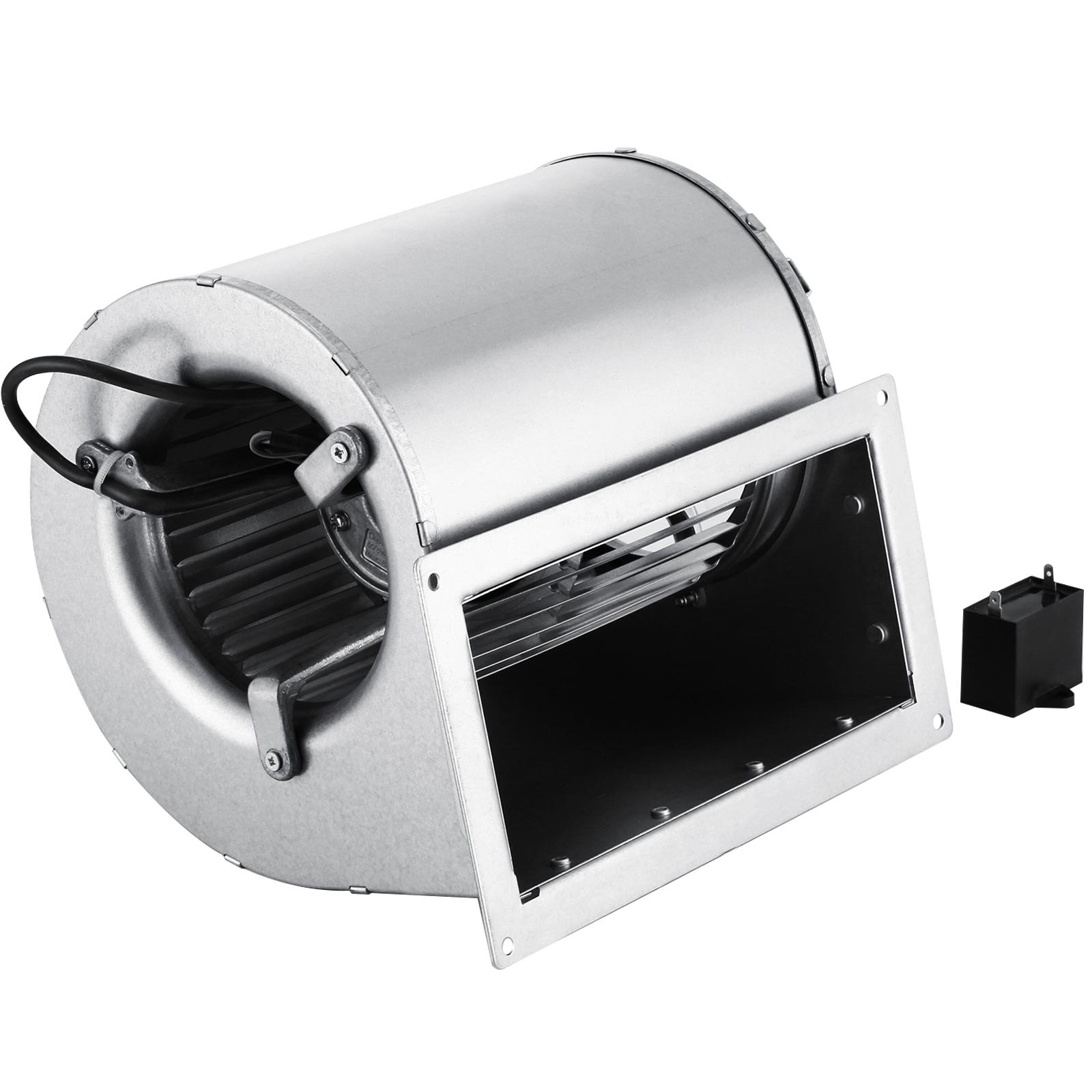 250W-Ventilateur-Centrifuge-Pellets-Granules-Entree-Double-AC-220V-Bois
