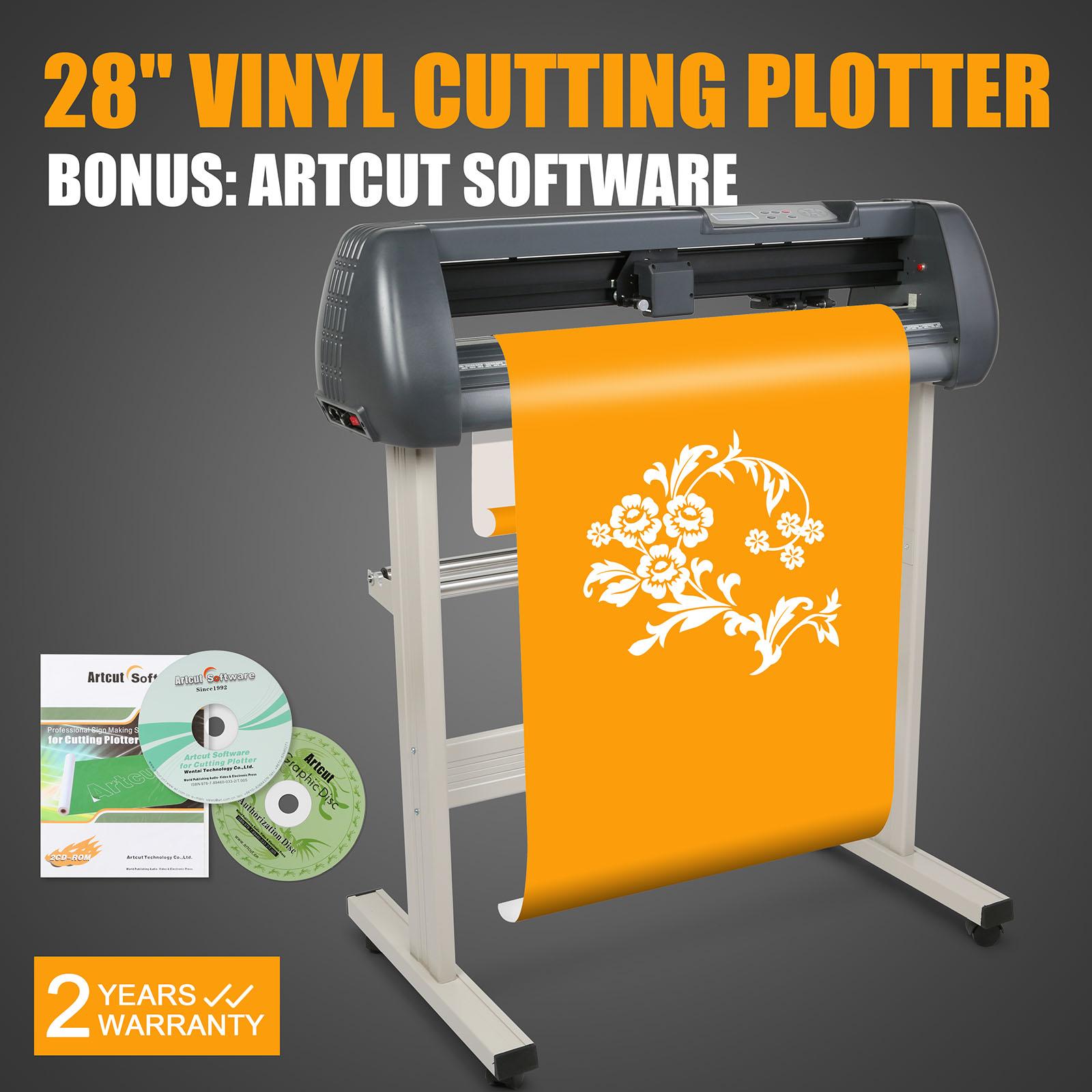 Vinyl Cutter 28 Quot Sign Cutting Plotter W Artcut Software