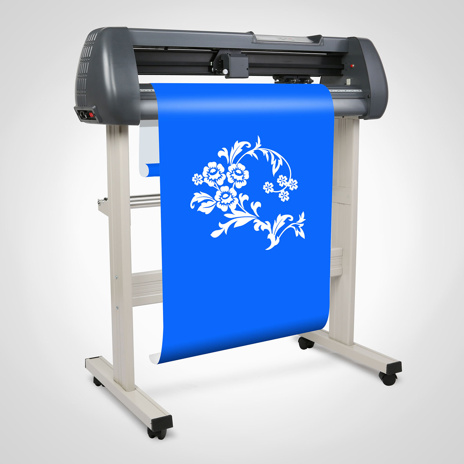 28 vinyl cutting plotter sticker sign printer cutter w artcut software ebay. Black Bedroom Furniture Sets. Home Design Ideas