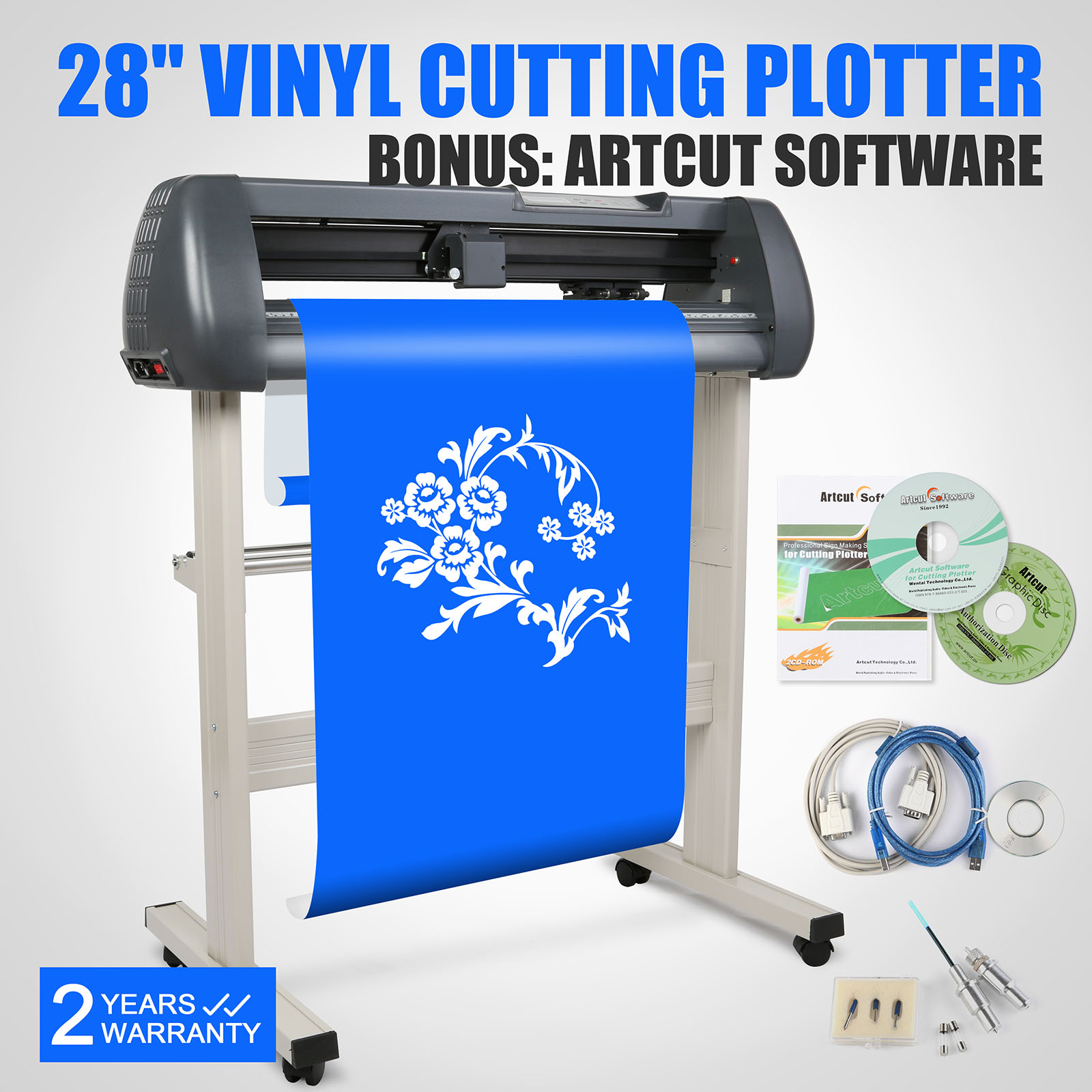 vinal cutting machine