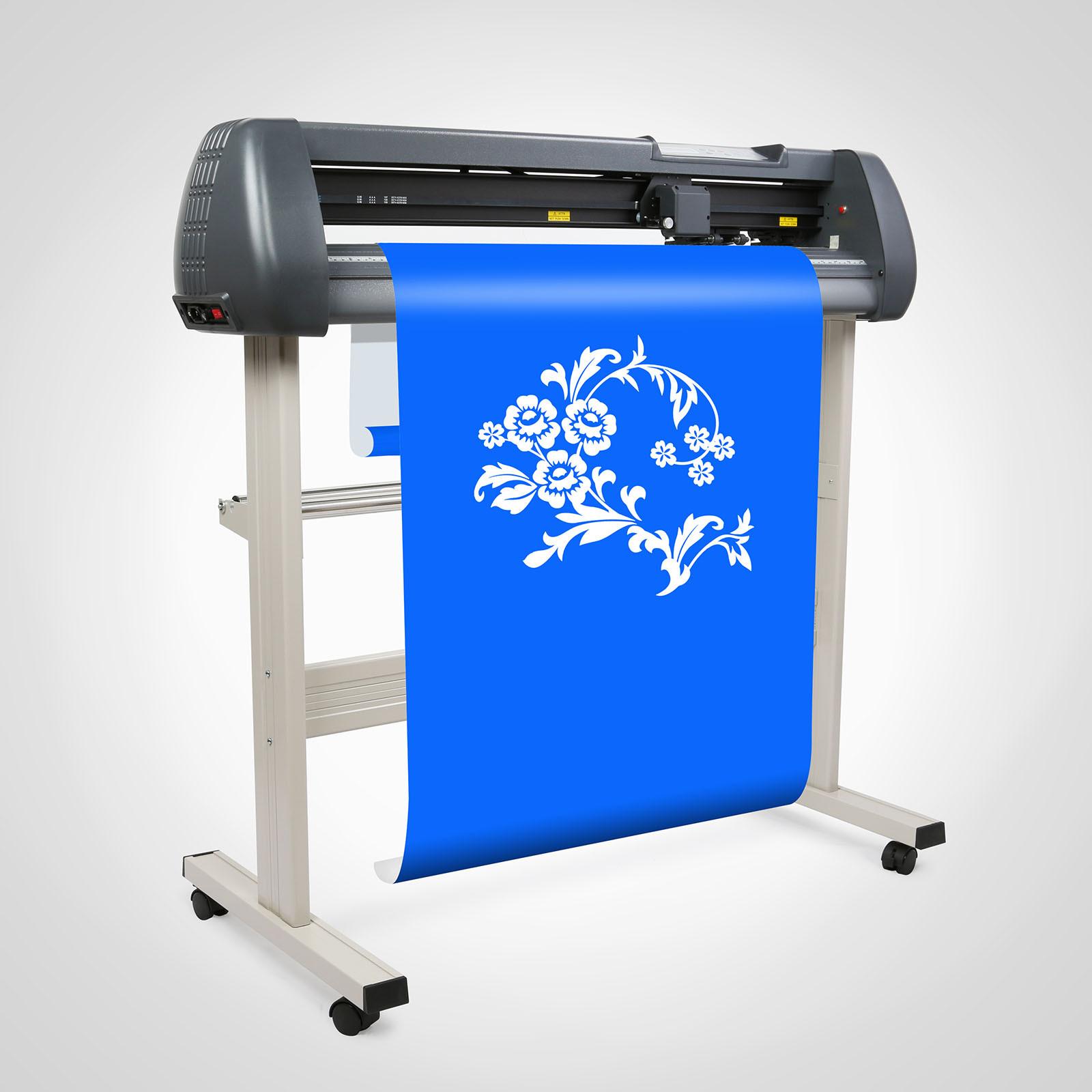 34 vinyl cutter cutting plotter w artcut software sticker design cut ebay. Black Bedroom Furniture Sets. Home Design Ideas