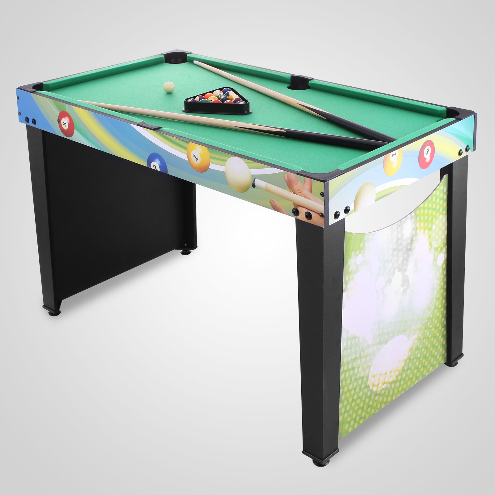 4ft 12 in 1 multi games football pool air hockey ping pong for 12 in one multi game table