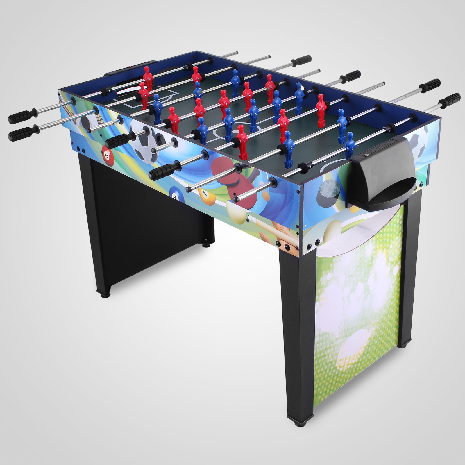 12 in 1 table tennis games air hockey pool foosball soccer for 12 in 1 game table